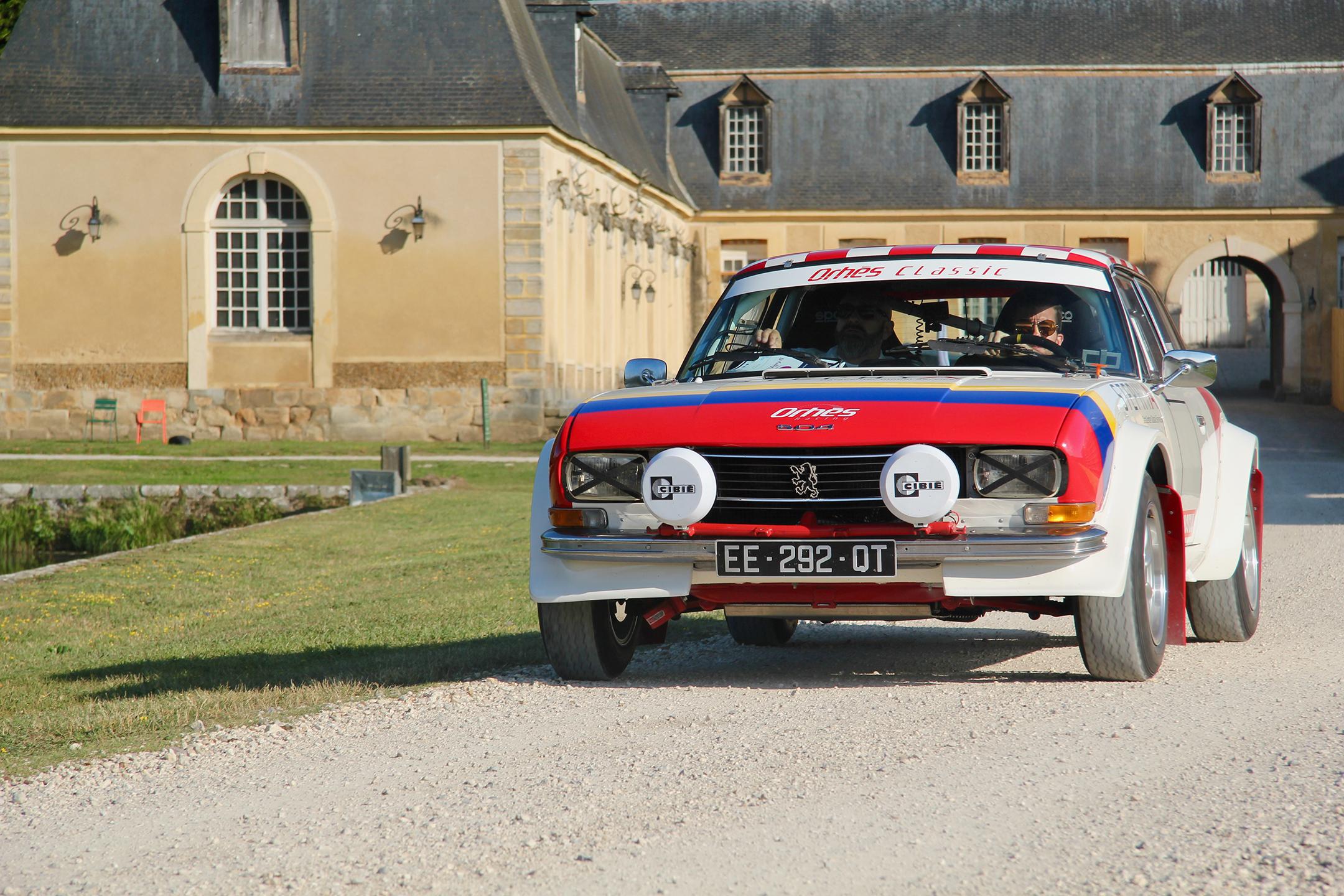 Peugeot 504 Coupé - Gerry Blyenberg - Olivier Pernault - Rallye du Coeur 202 - photo Ludo Ferrari