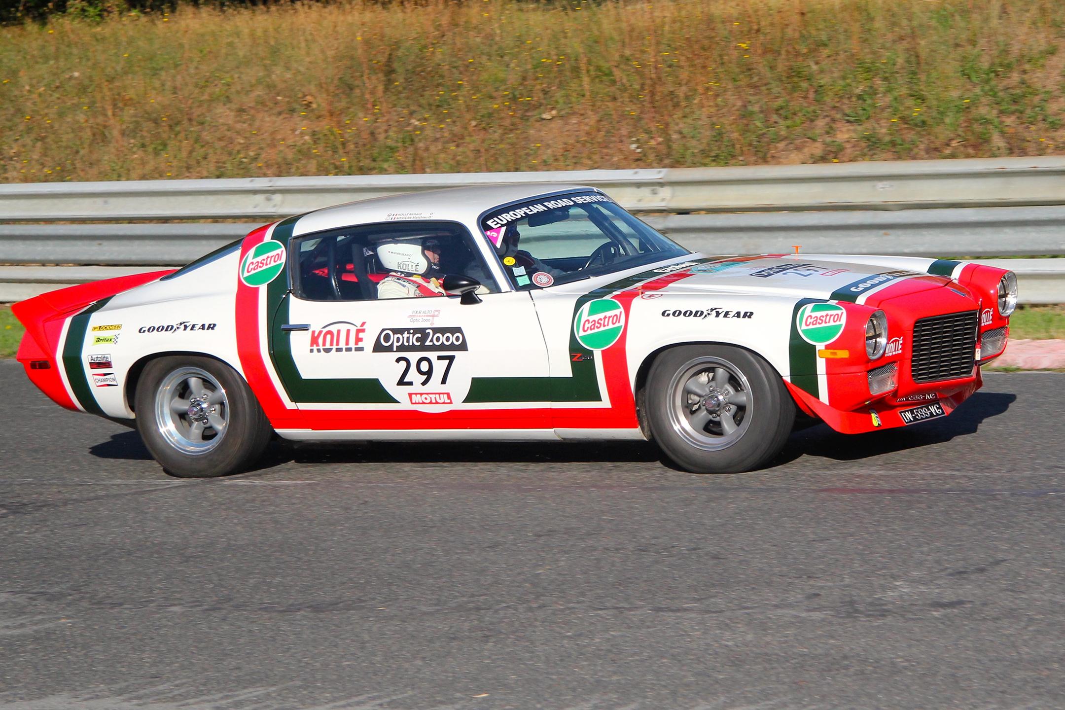 Chevrolet Camaro Z28 1970 - Autodrome de Linas-Monthléry - Tour Auto 2020 - photo Ludo Ferrari