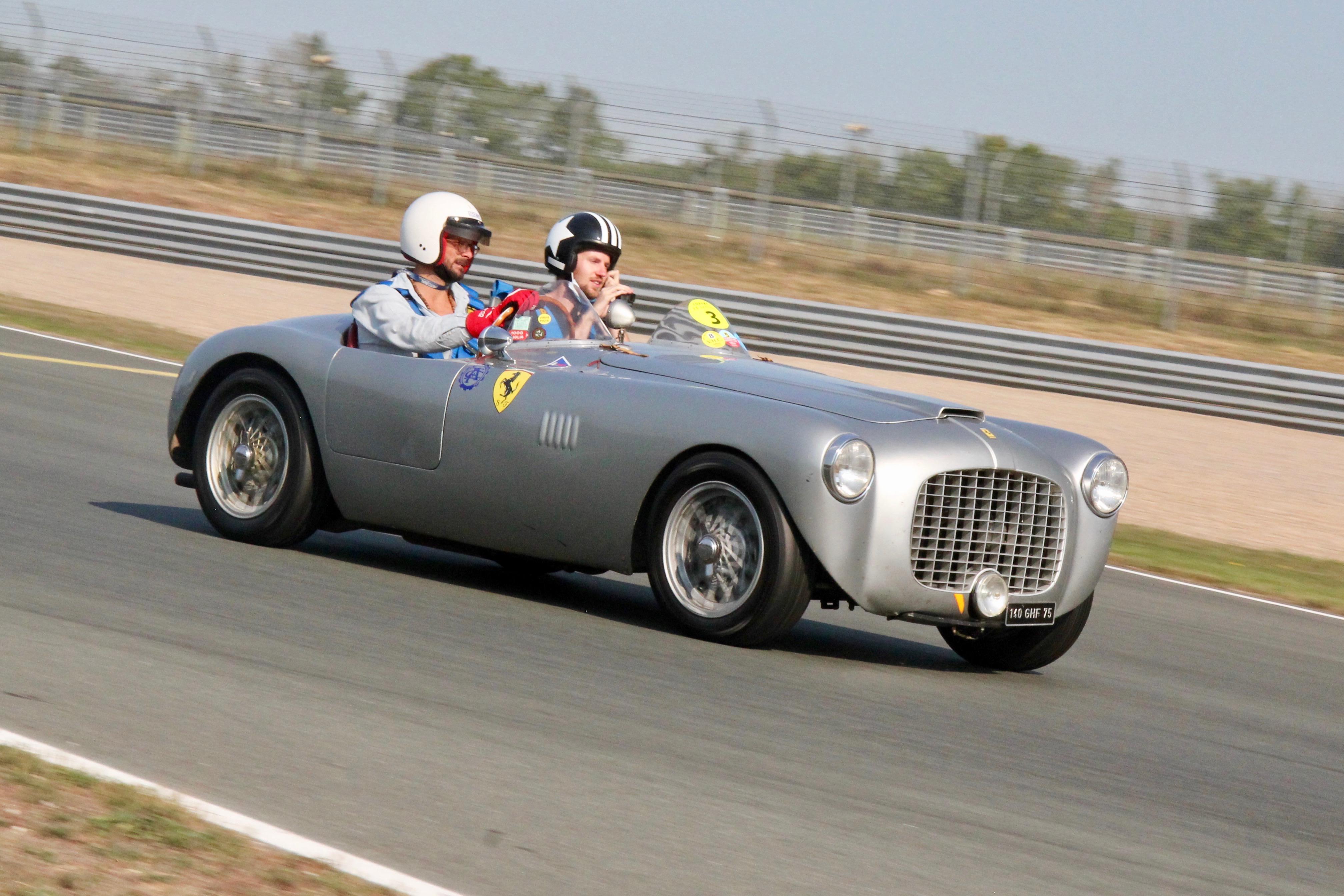 Ferrari 212 Export Motto Spyder - 1951 - front side-face / profil avant - Circuit du Vigeant - Sport et Collection - 2020 - photo Ludo Ferrari