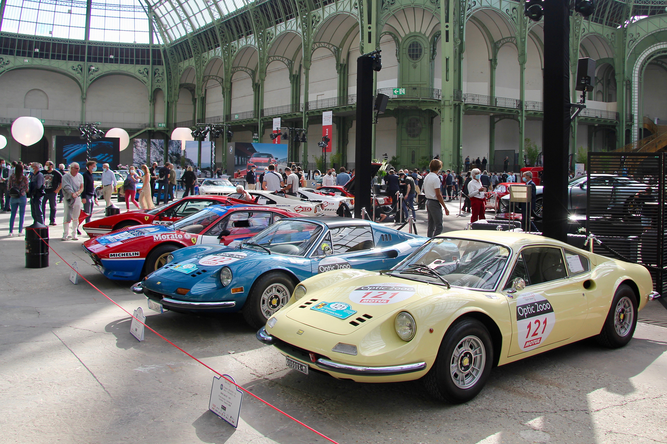Ferrari Dino - expo Grand Palais - Paris - Tour Auto 2020 - photo Ludo Ferrari