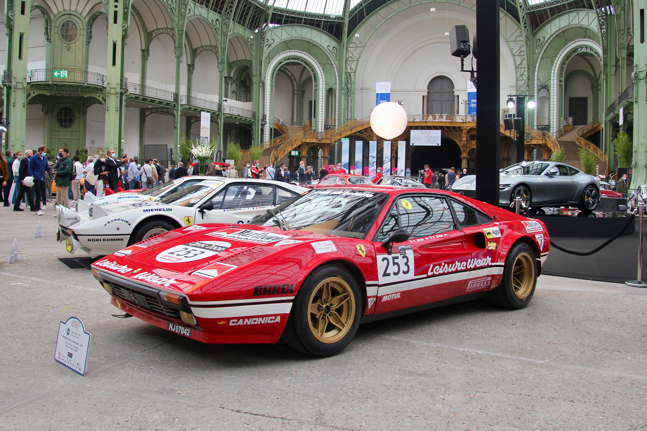 Ferrari 308 Gr IV Michelotto - expo Grand Palais - Paris - Tour Auto 2020 - photo Ludo Ferrari