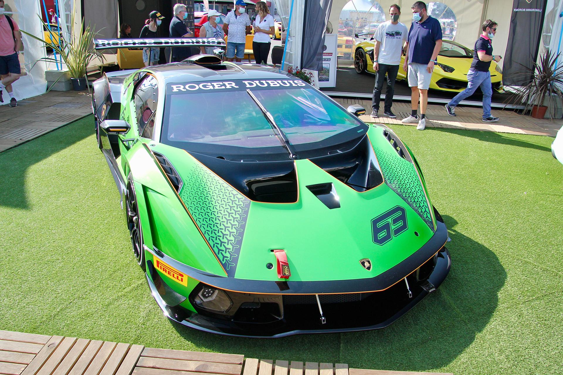 Lamborghini Essenza SCV12 - front / avant - expo - Sport et Collection - 2020 - photo Ludo Ferrari