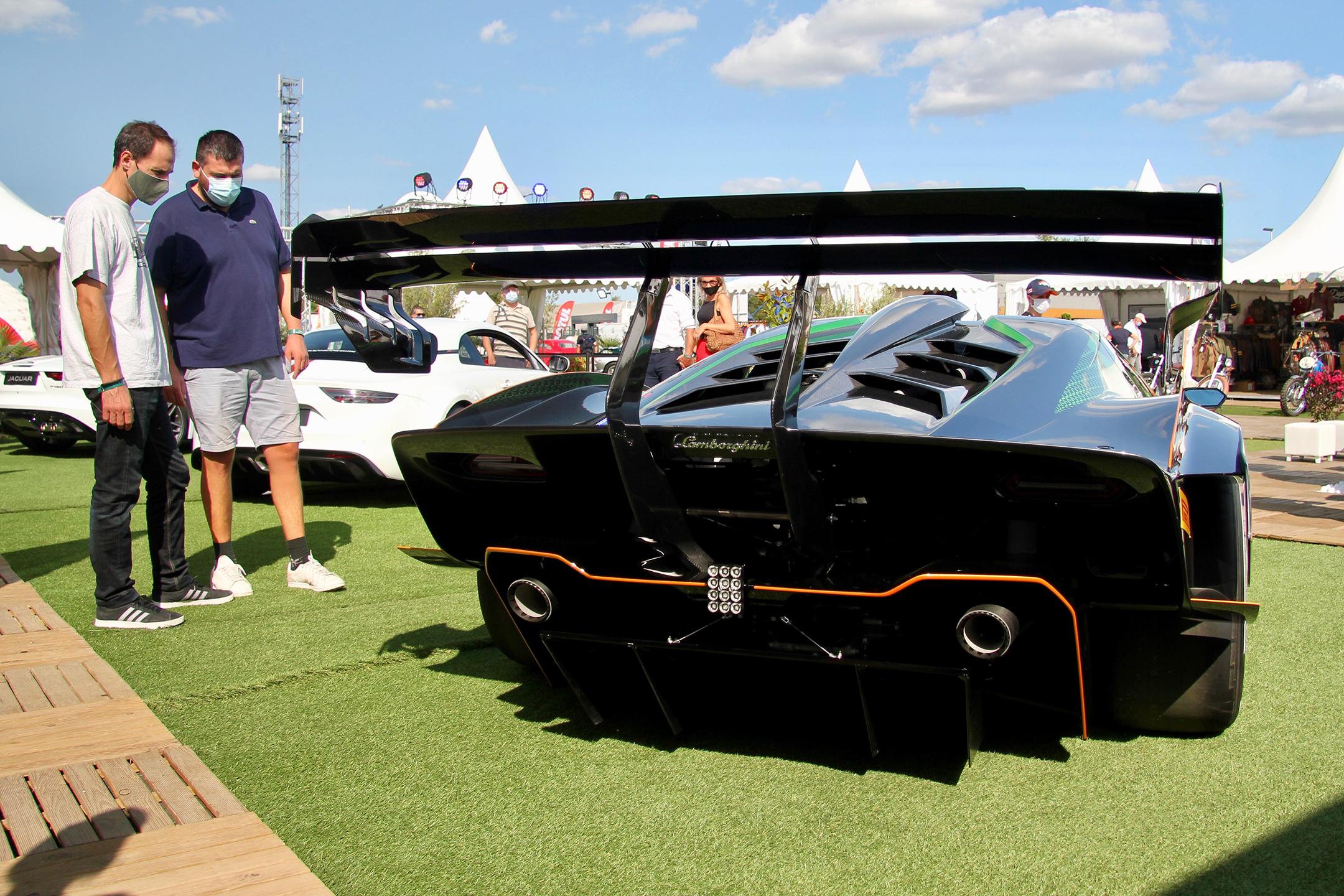 Lamborghini Essenza SCV12 - rear / arrière - expo - Sport et Collection - 2020 - photo Ludo Ferrari