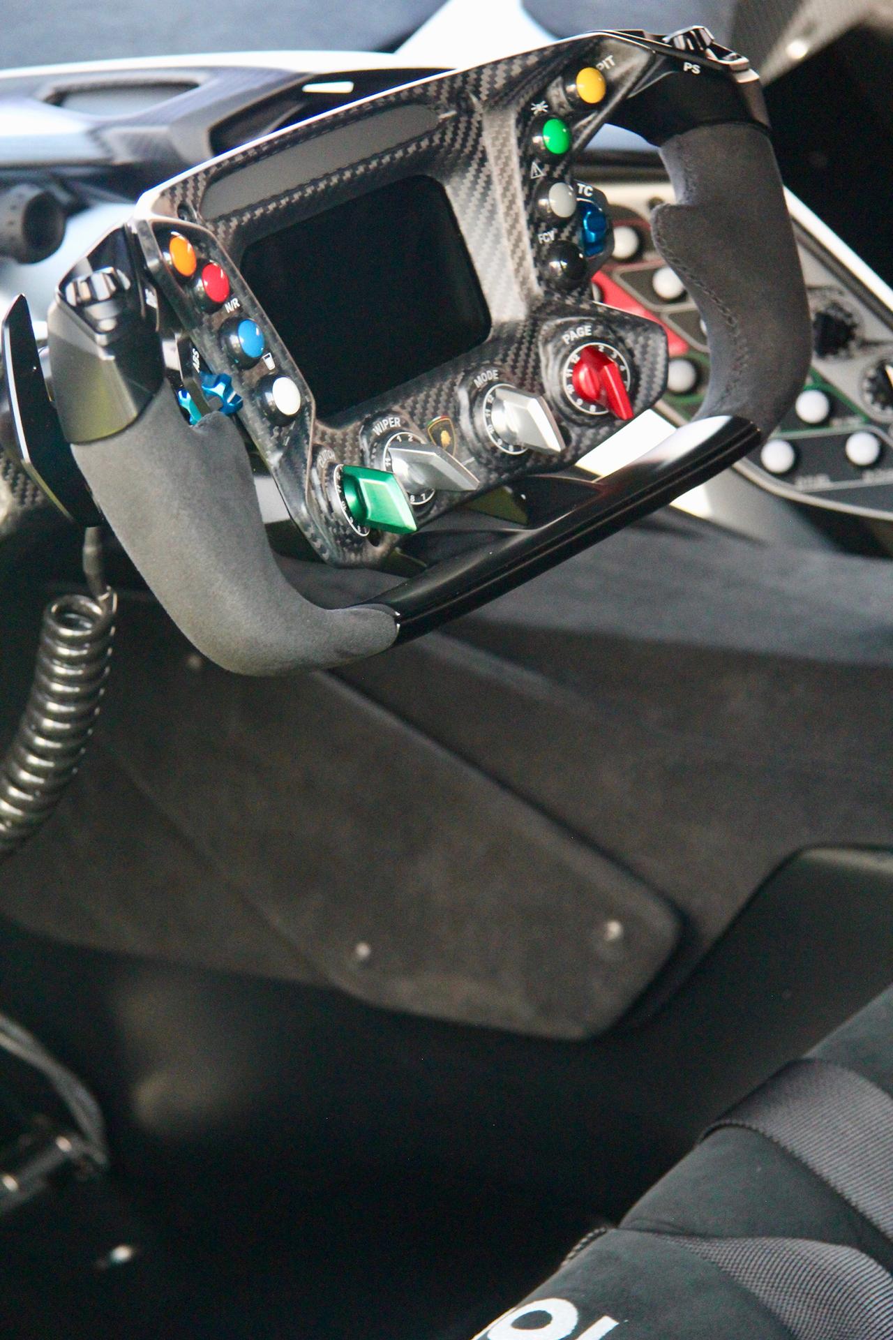 Lamborghini Essenza SCV12 - volant course - expo - Sport et Collection - 2020 - photo Ludo Ferrari