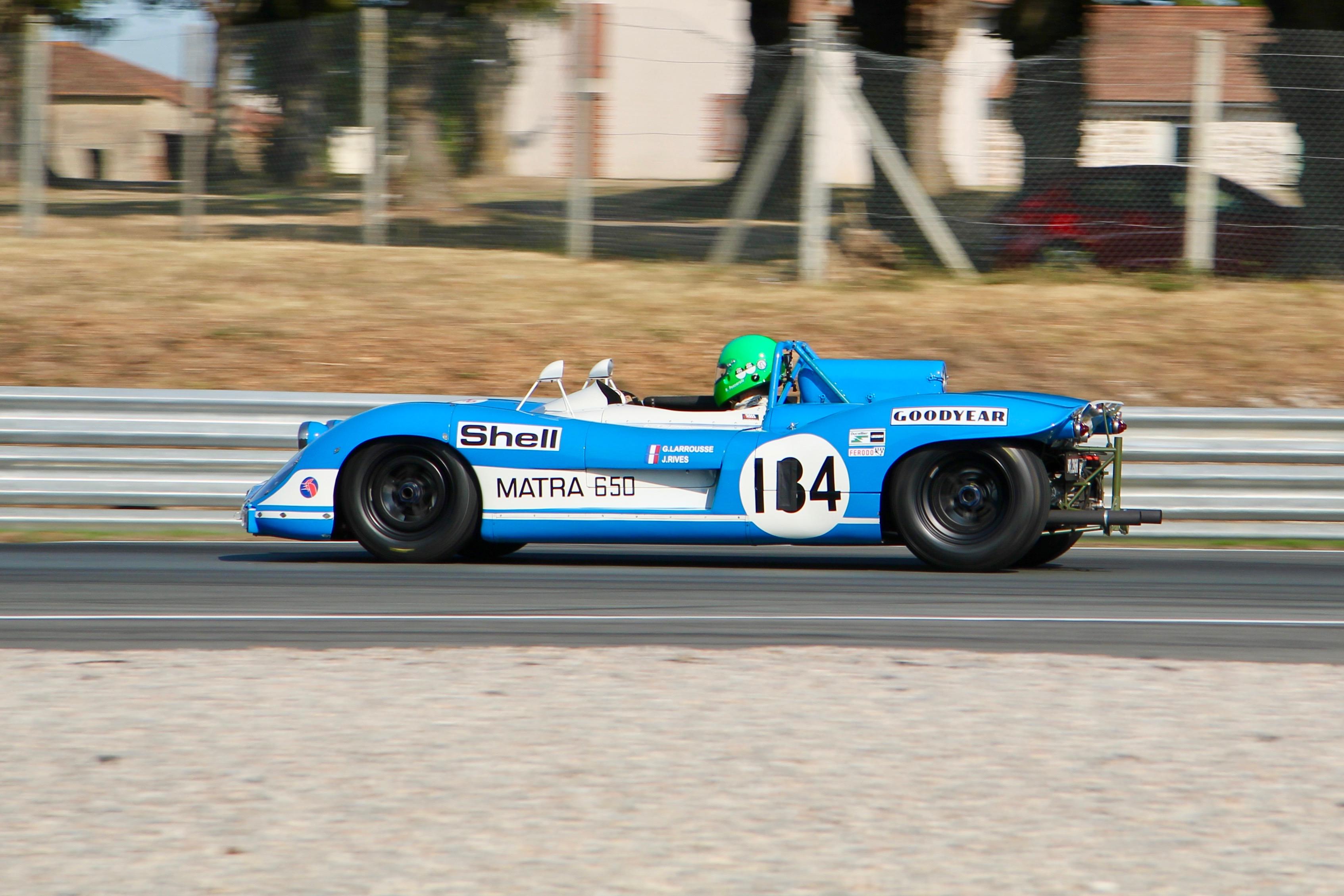 Matra-Simca MS650 - prototype - Gr6 - 1969 - side-face / profil - Henri Pescarolo - Circuit du Vigeant - Sport et Collection - 2020 - photo Ludo Ferrari