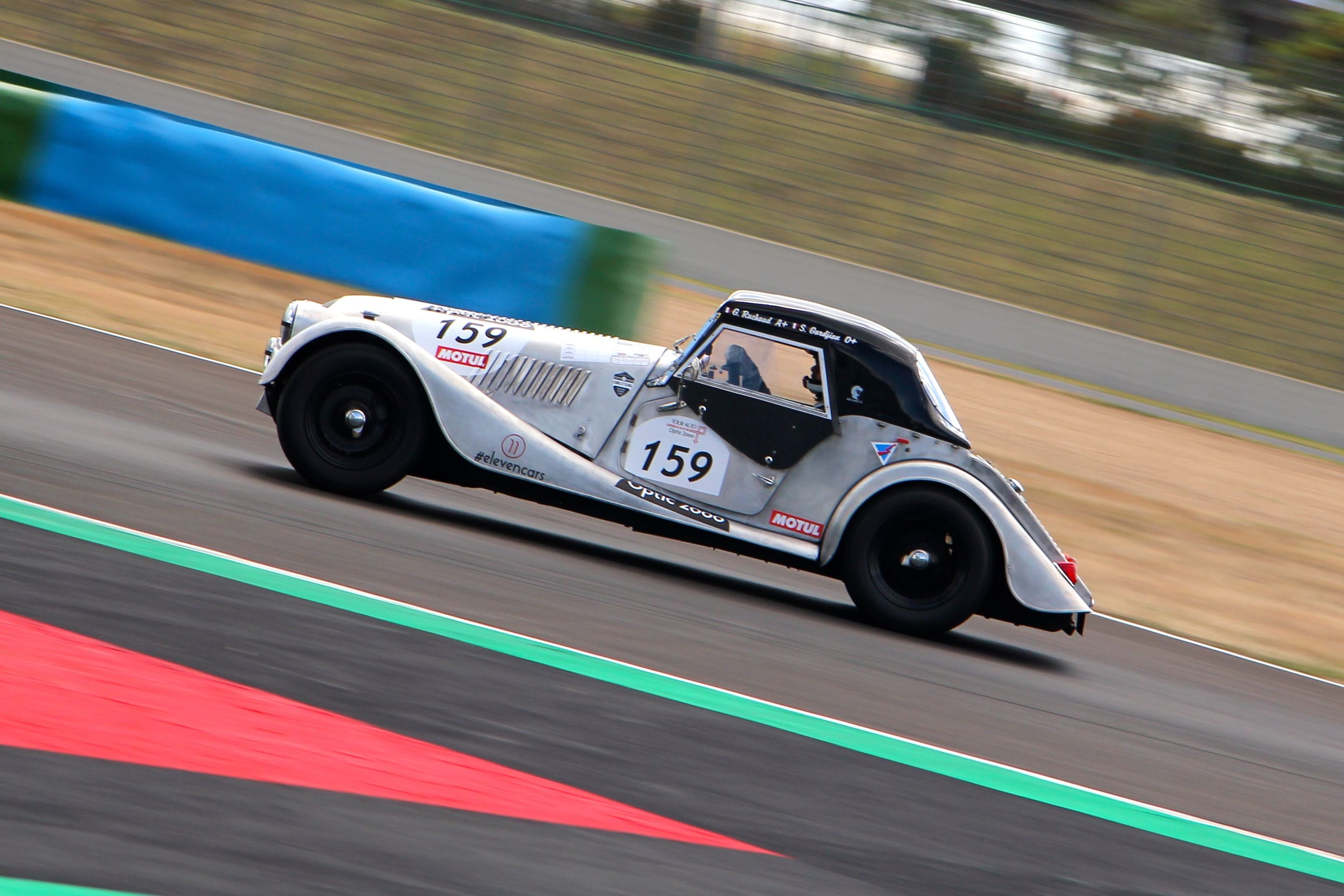 Morgan 4 Super Sport - circuit de Nevers Magny-Cours - Tour Auto 2020 - photo Ludo Ferrari