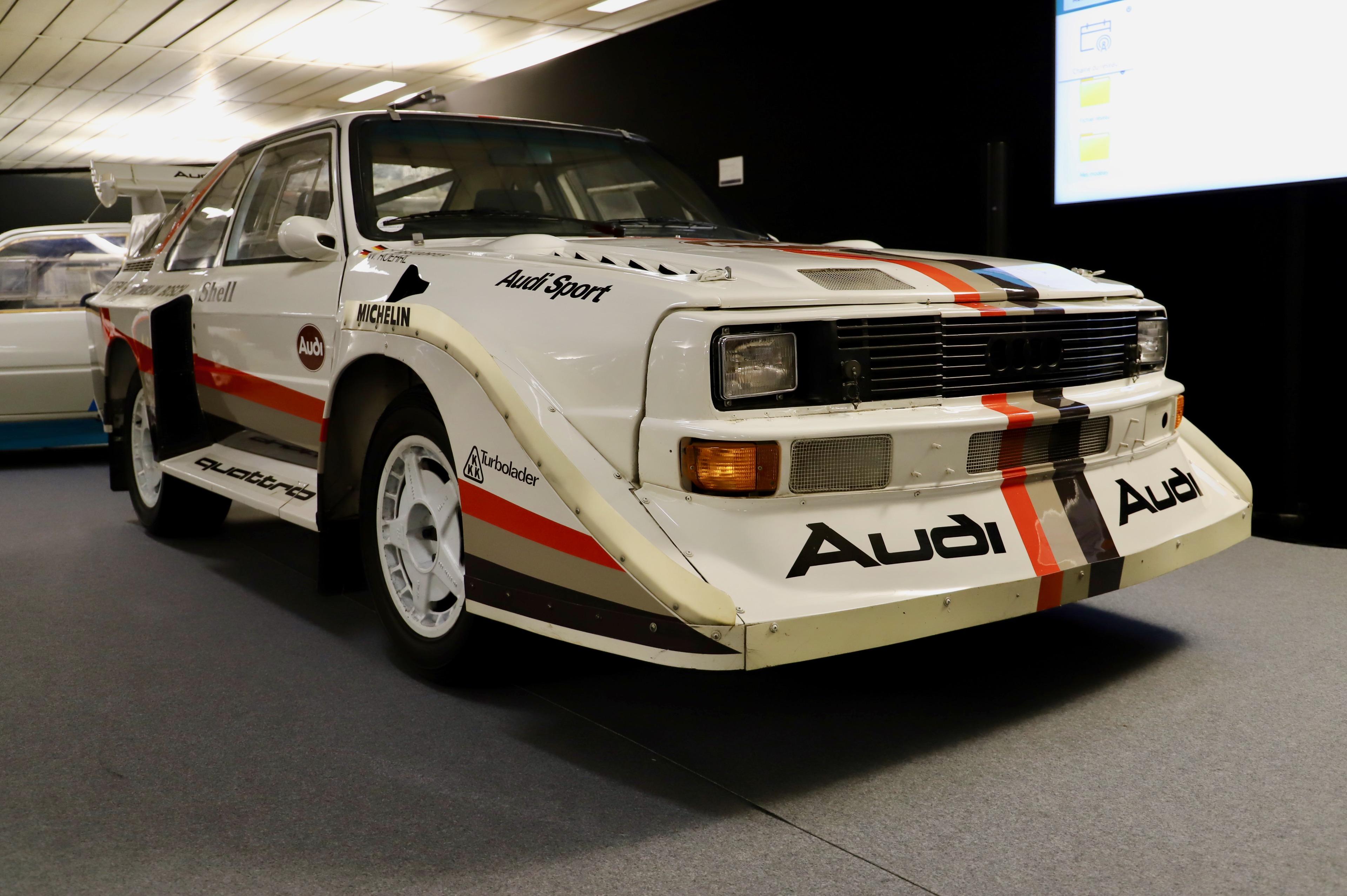 Audi Quattro S1 1988 - front - La Parisienne 2021 - Motorcars Artcurial - photo Ludo Ferrari