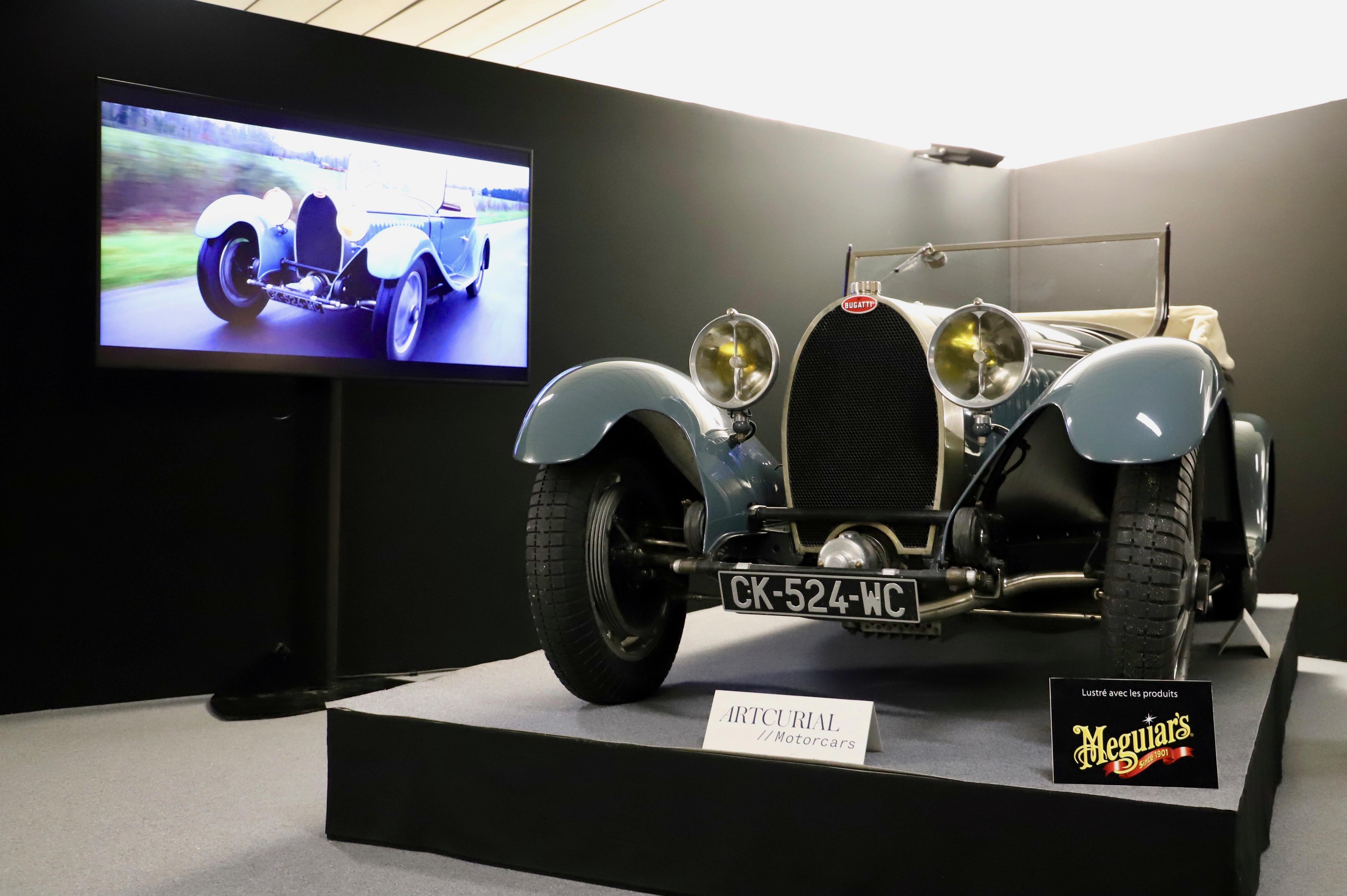 Bugatti Type 55 Roadster - Vanvooren - 1932 - La Parisienne 2021 - Motorcars Artcurial - photo Ludo Ferrari