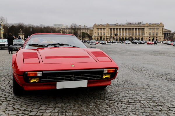 Ferrari 308 GTS QV - Traversée de Paris Hivernale - 2021 - photo Ludo Ferrari