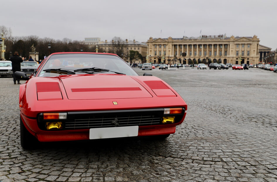 Ferrari 308 GTS QV - Traversée de Paris Hivernale - 2021 - photo Ludo Ferrari