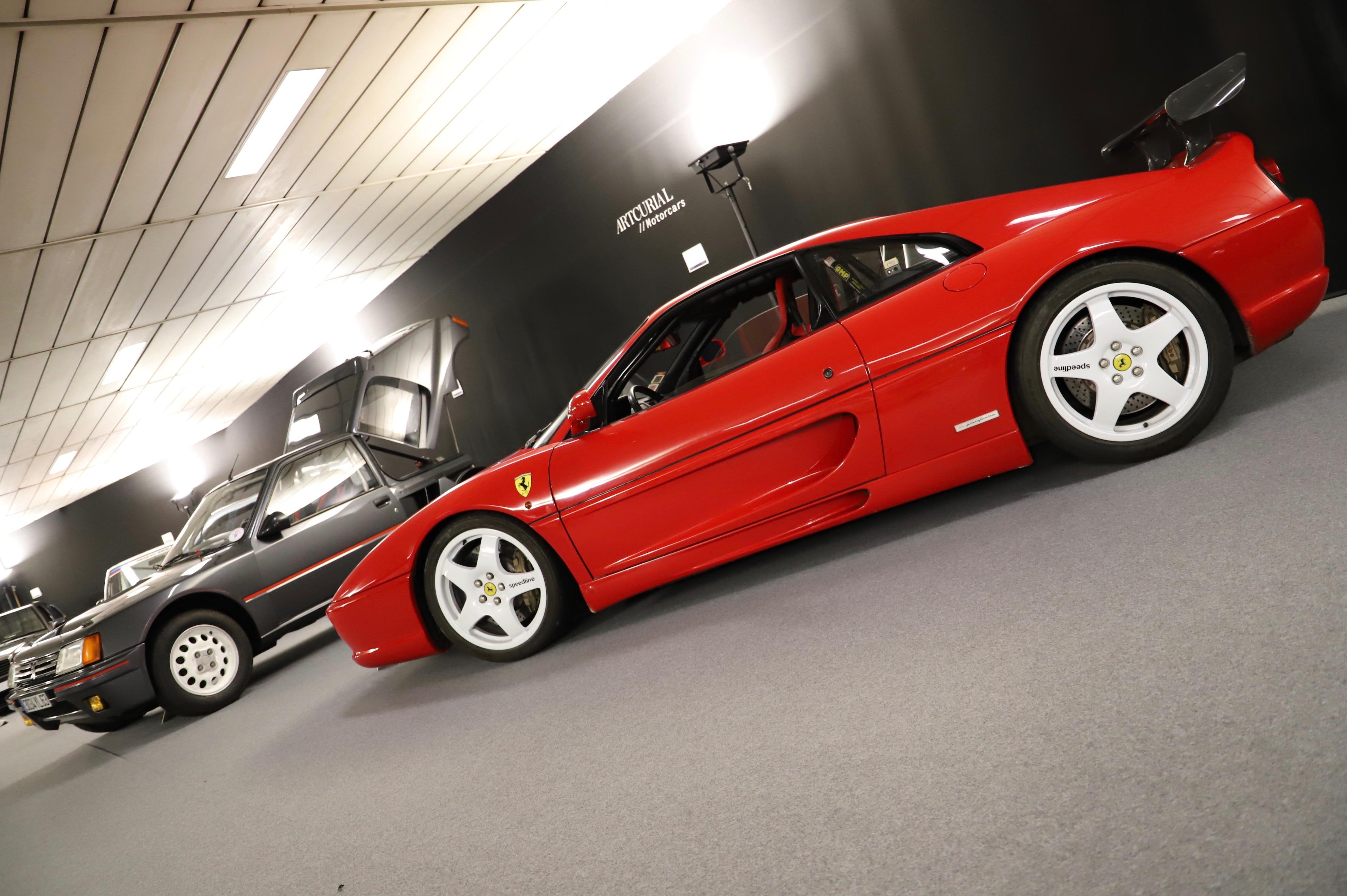 Ferrari 355 Challenge 1995 - La Parisienne 2021 - Motorcars Artcurial - photo Ludo Ferrari