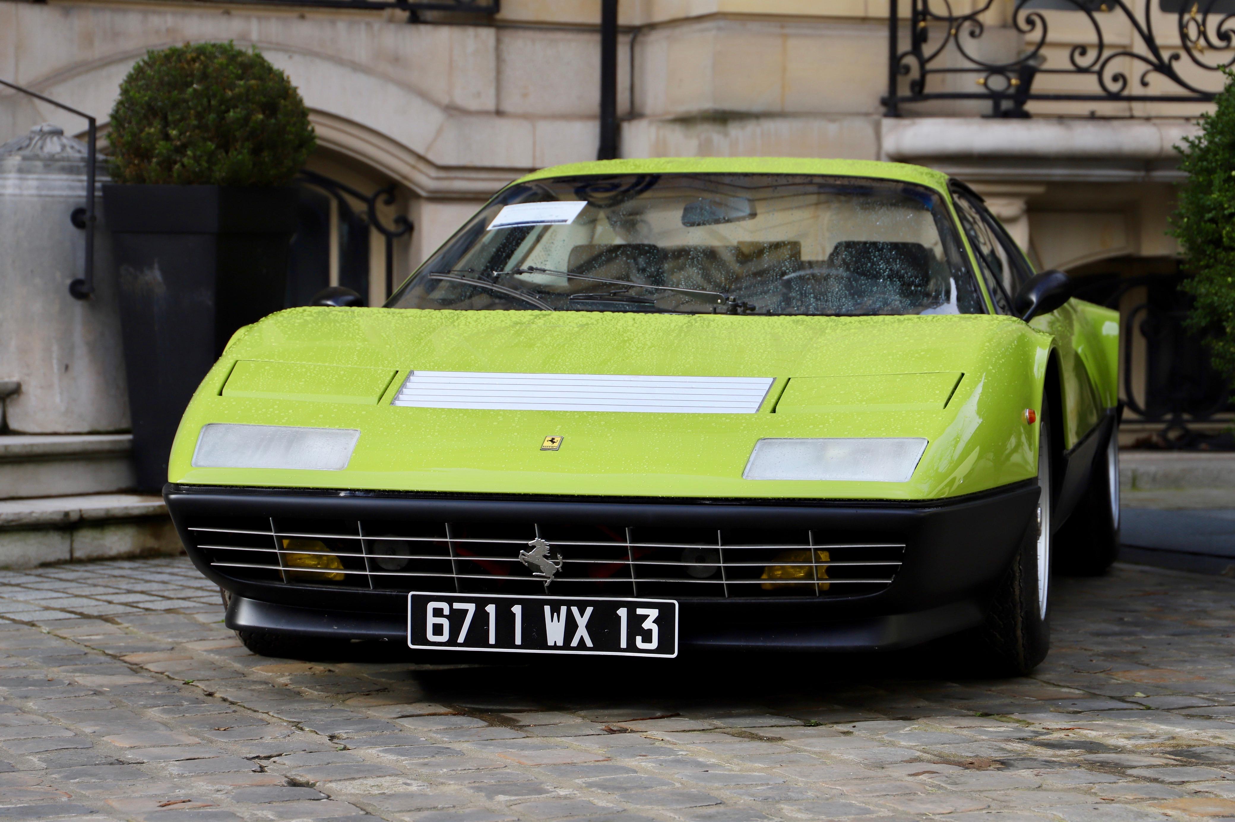 Ferrari 512 BB 1980 - La Parisienne 2021 - Motorcars Artcurial - photo Ludo Ferrari