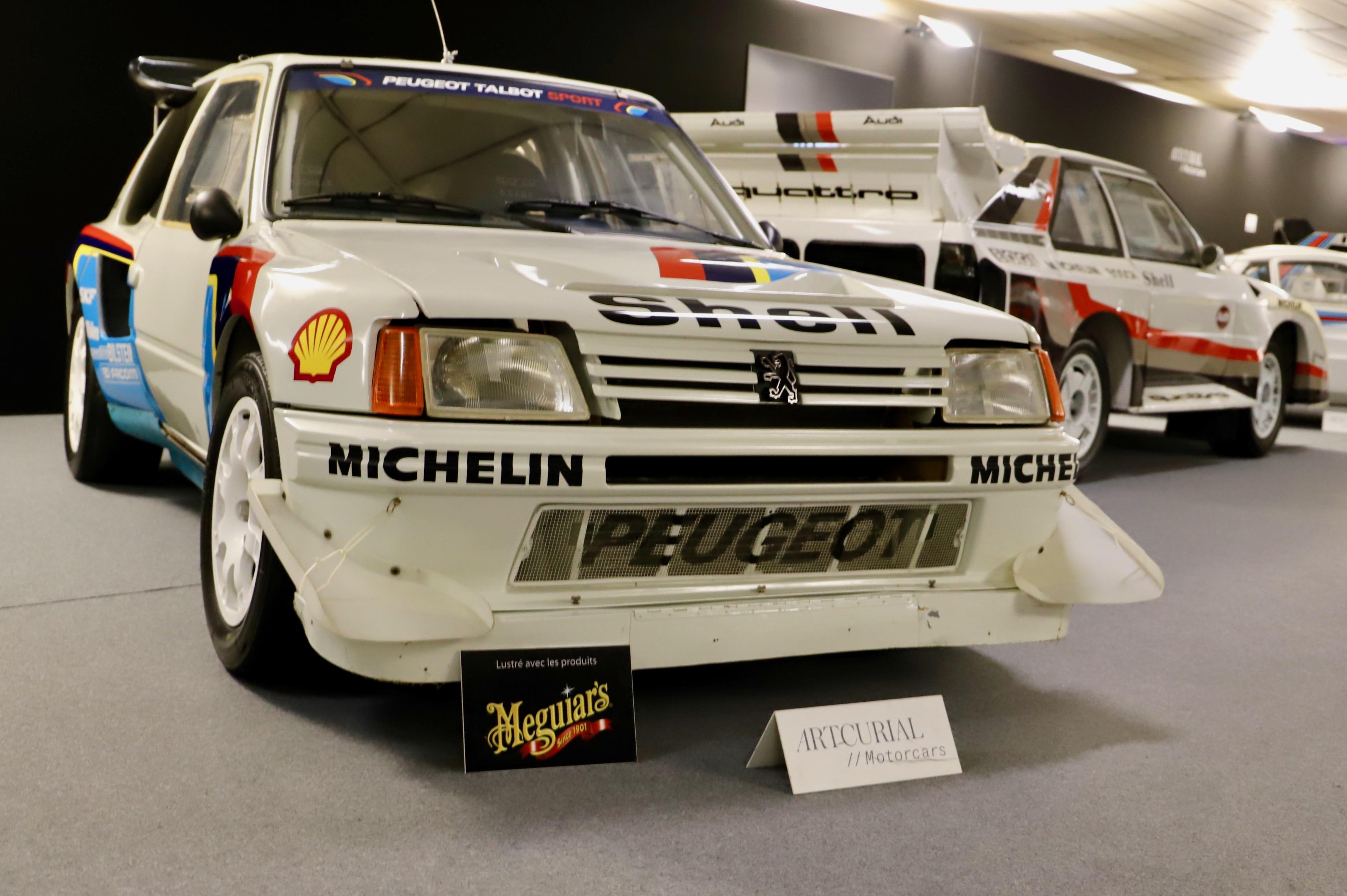 Peugeot 205 Turbo 16 Evolution 2 1985 - La Parisienne 2021 - Motorcars Artcurial - photo Ludo Ferrari
