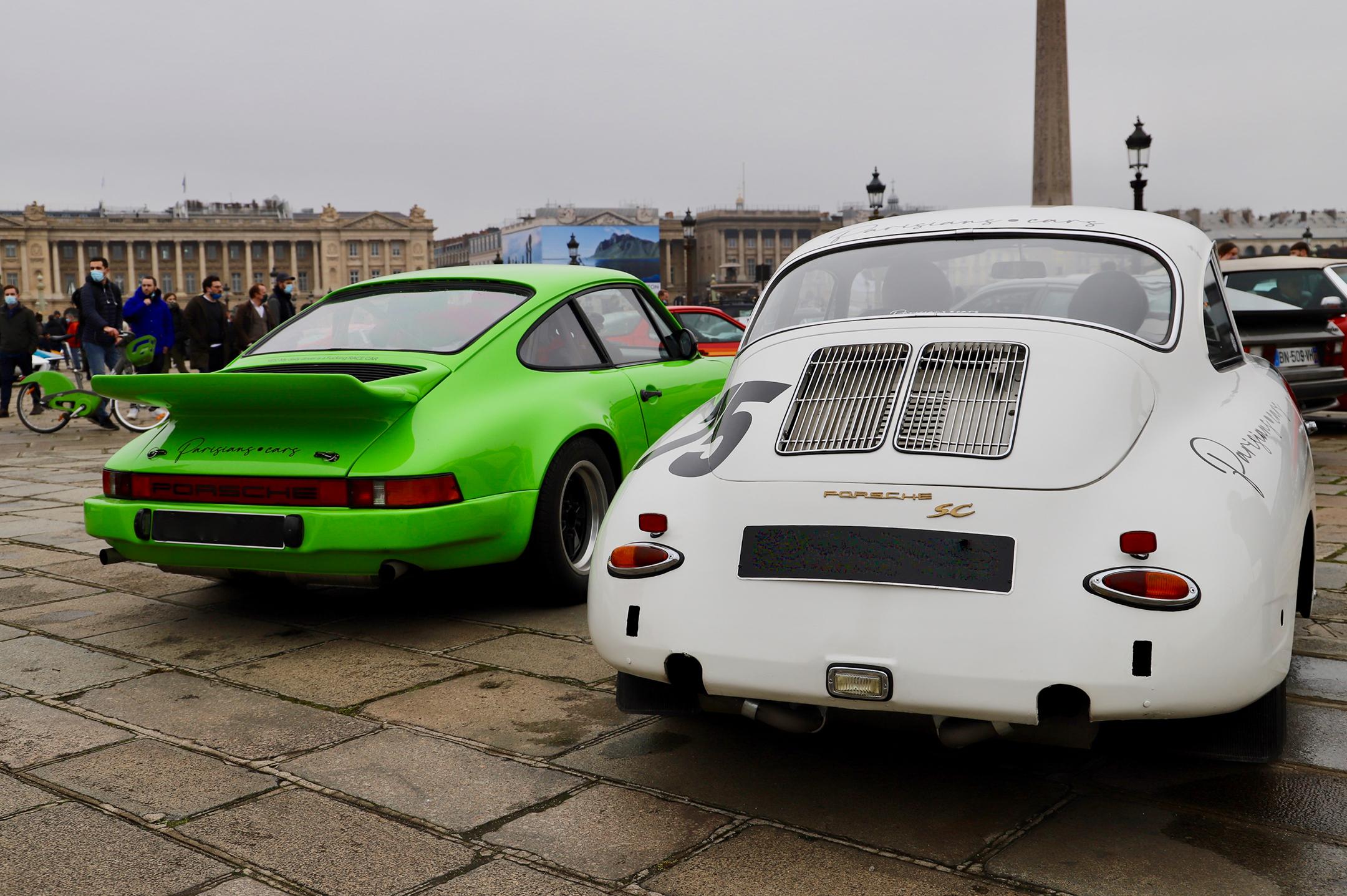 Porsche heritage - Traversée de Paris Hivernale - 2021 - photo Ludo Ferrari