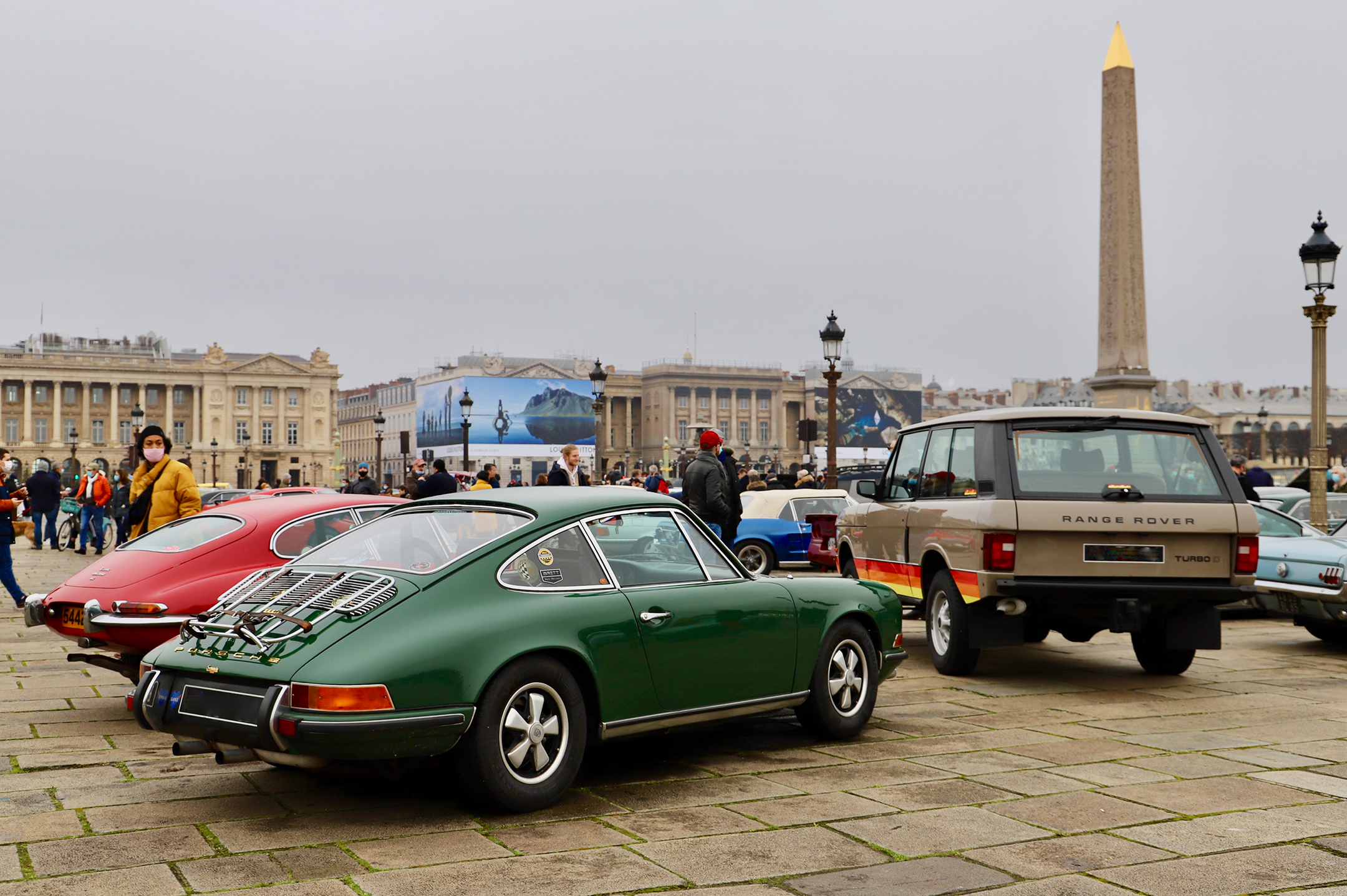 Porsche classic cars - Traversée de Paris Hivernale - 2021 - photo Ludo Ferrari