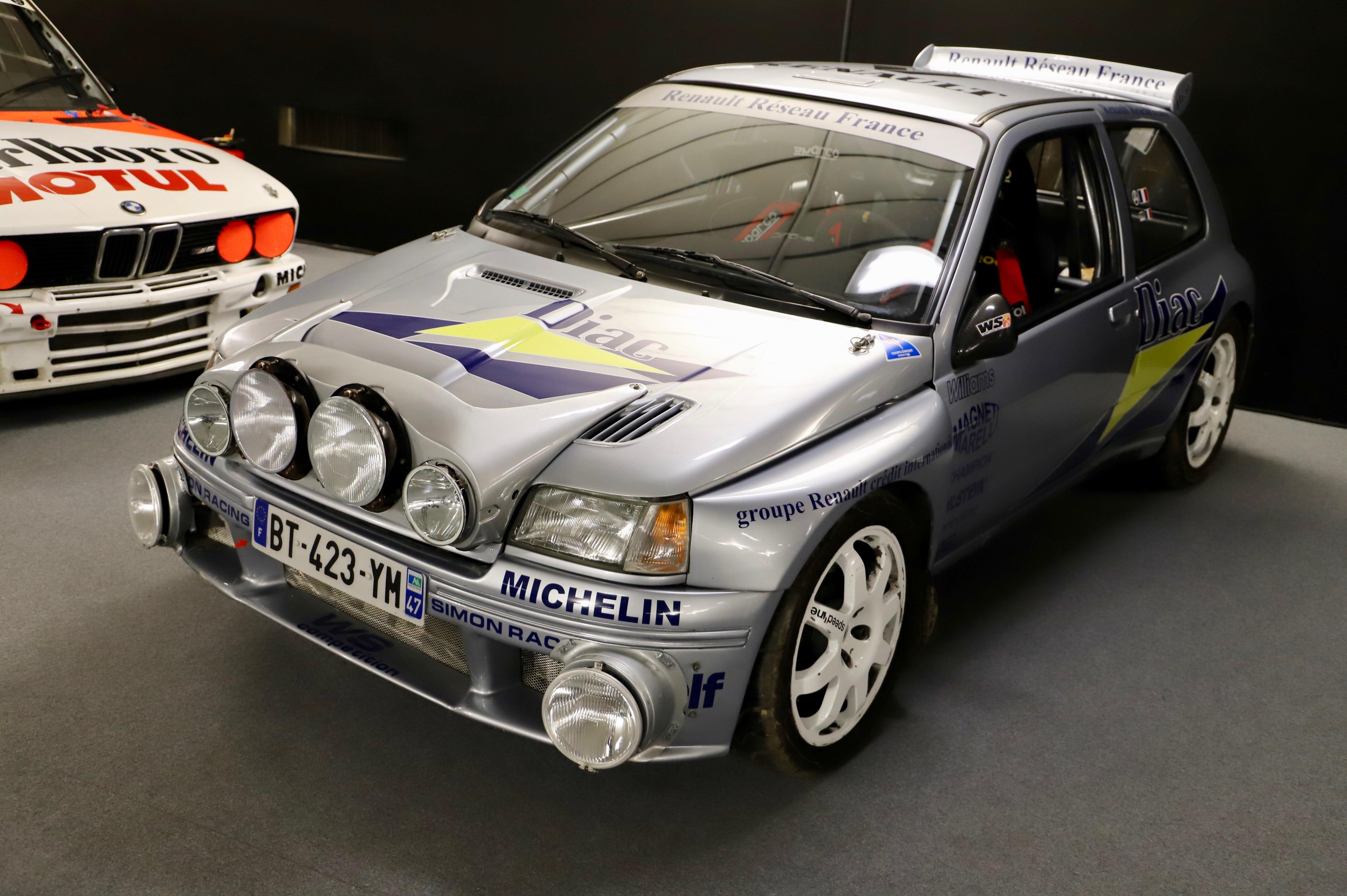 Renault Clio Maxi Kit - Ragnotti - 1995 - La Parisienne 2021 - Motorcars Artcurial - photo Ludo Ferrari