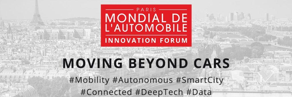 Mondial de l'Automobile 2016 Innovation Forum - cover