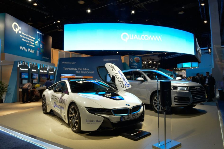 Qualcomm - CES 2016 - BMW i8 Safety Car Formula E