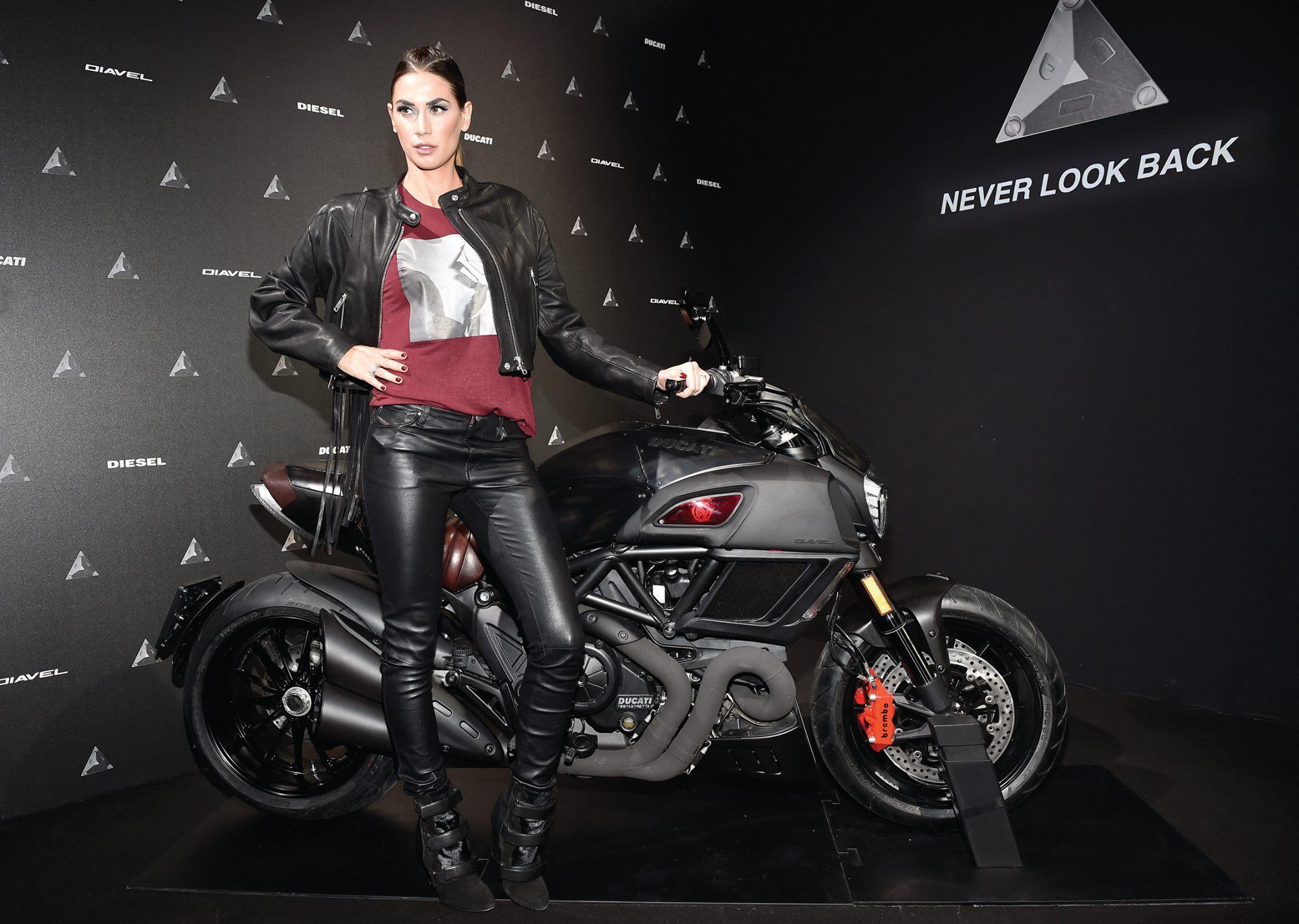 Ducati Diavel Diesel - 2017 - Milan - Melissa Satta