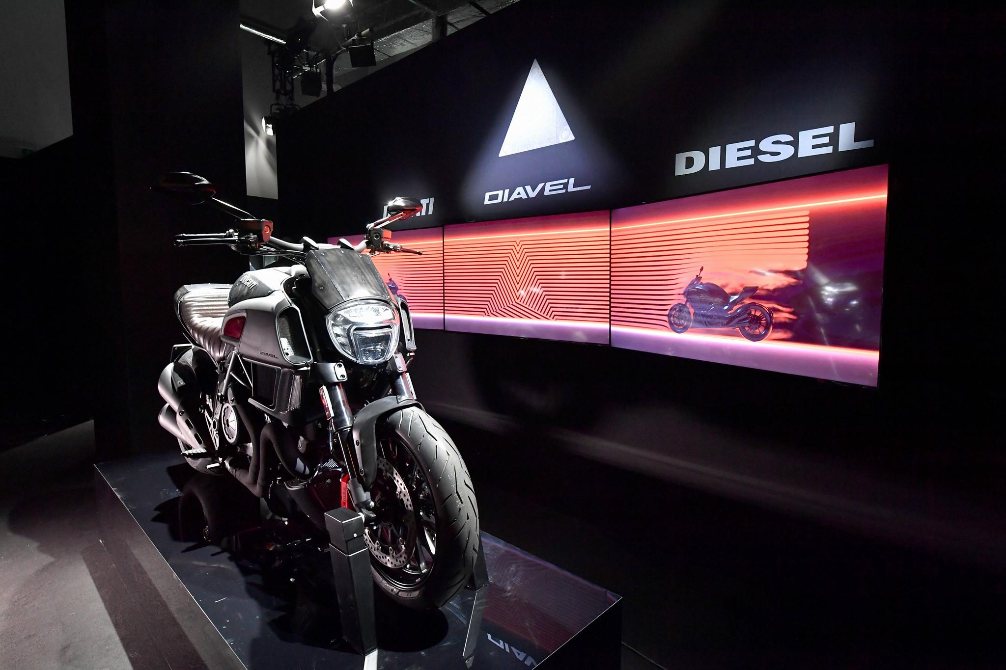 Ducati Diavel Diesel - 2017 - front / avant
