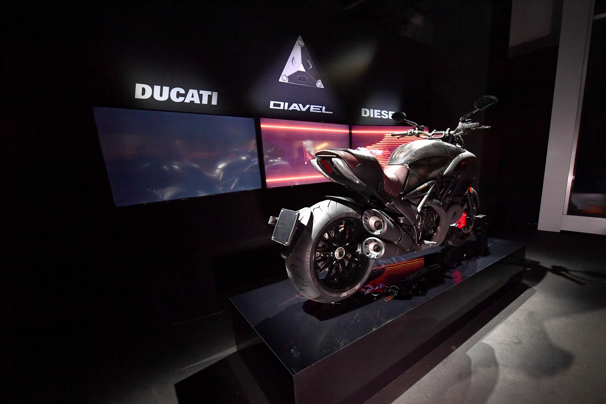 Ducati Diavel Diesel - 2017 - rear / arrière