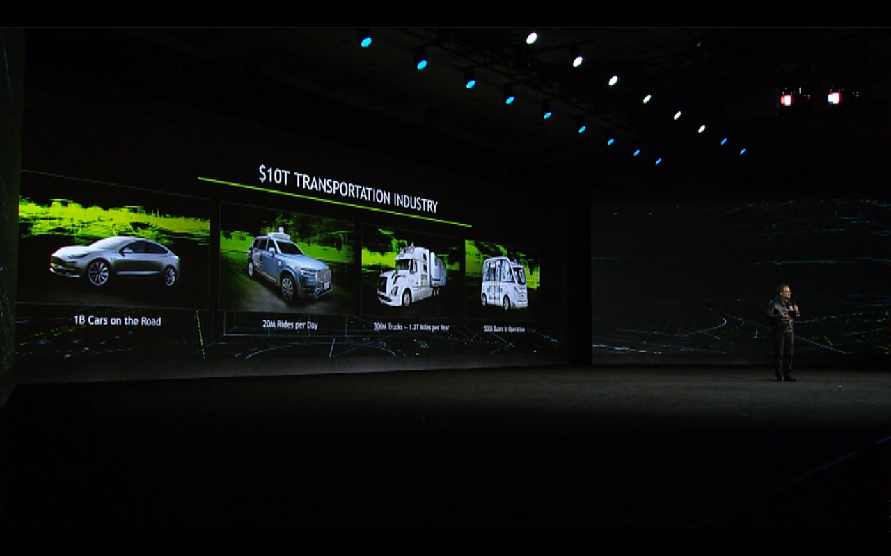NVIDIA keynote CES 2017 - Transportation