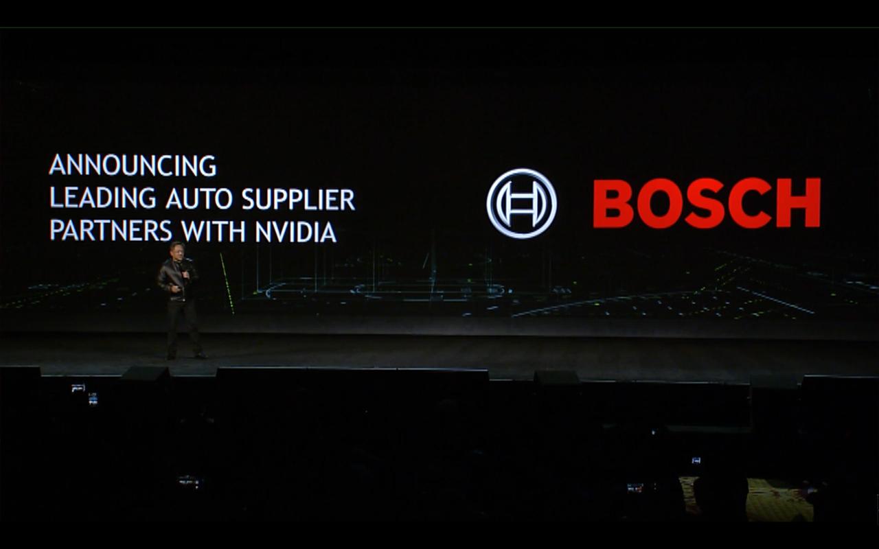 NVIDIA keynote CES 2017 - partner Bosh