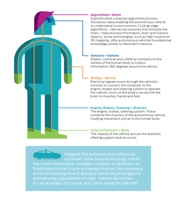 Ford - infographic - Autonomous Driving