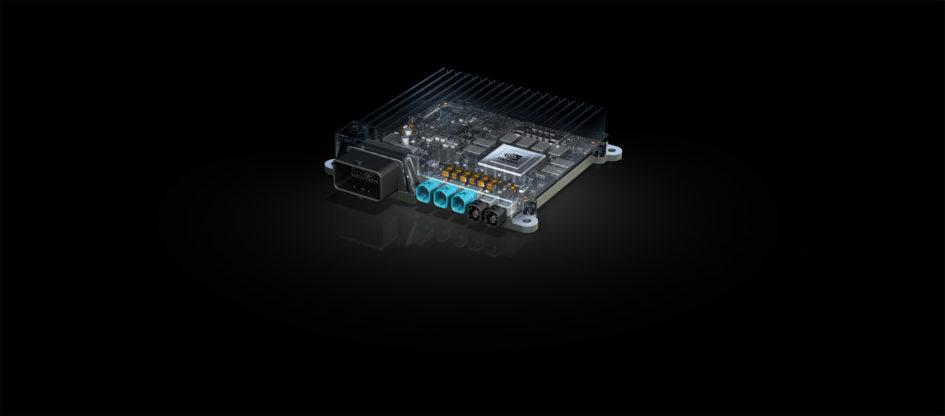 NVIDIA Bosch AI self-driving car computer