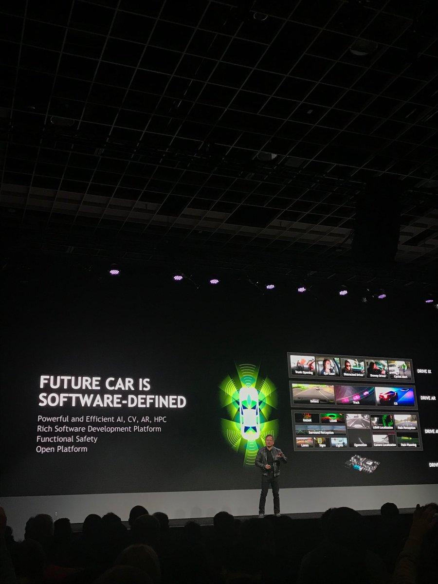 NVIDIA CES 2018 - cover keynote