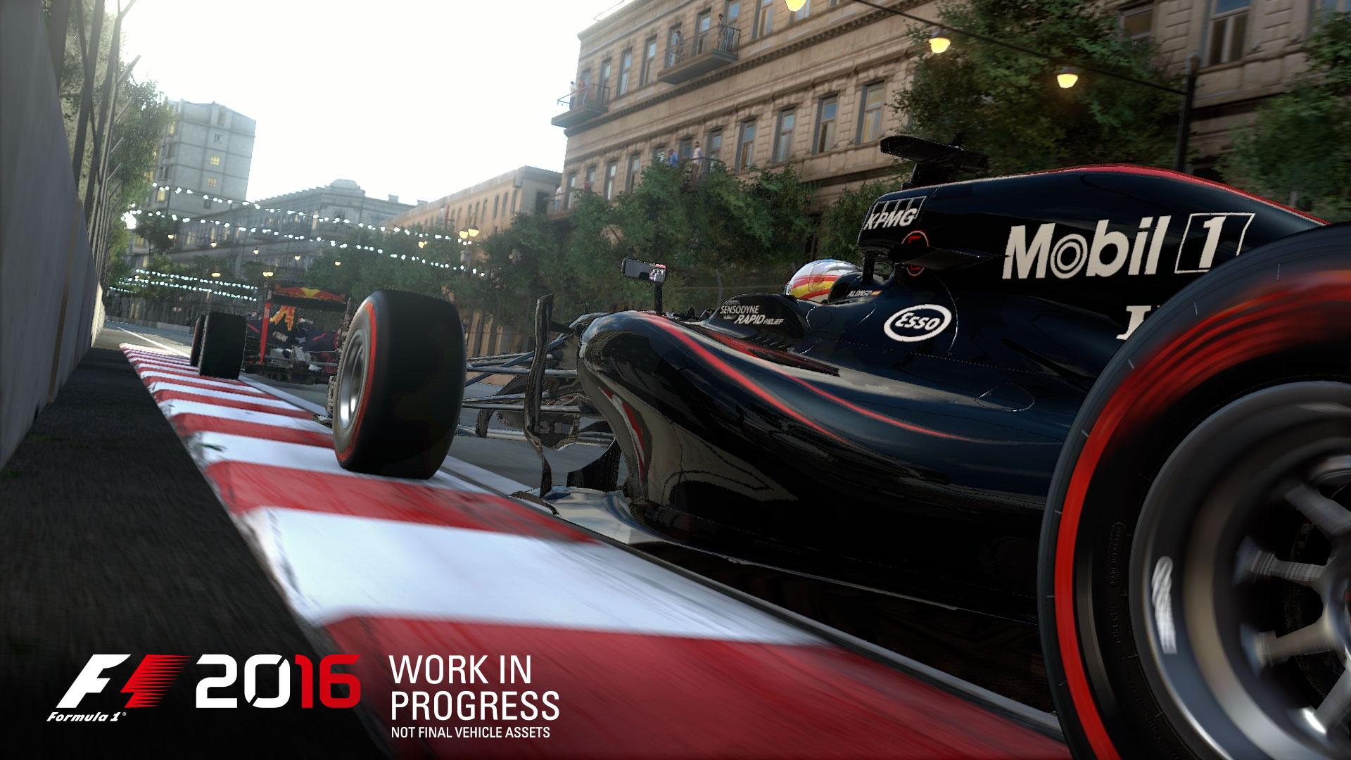F1 2016 - game screen - McLaren