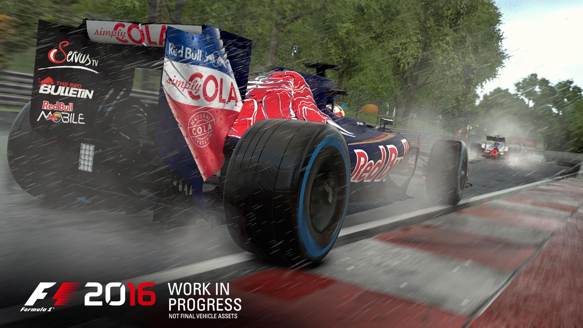 F1 2016 - game screen - Toro Rosso