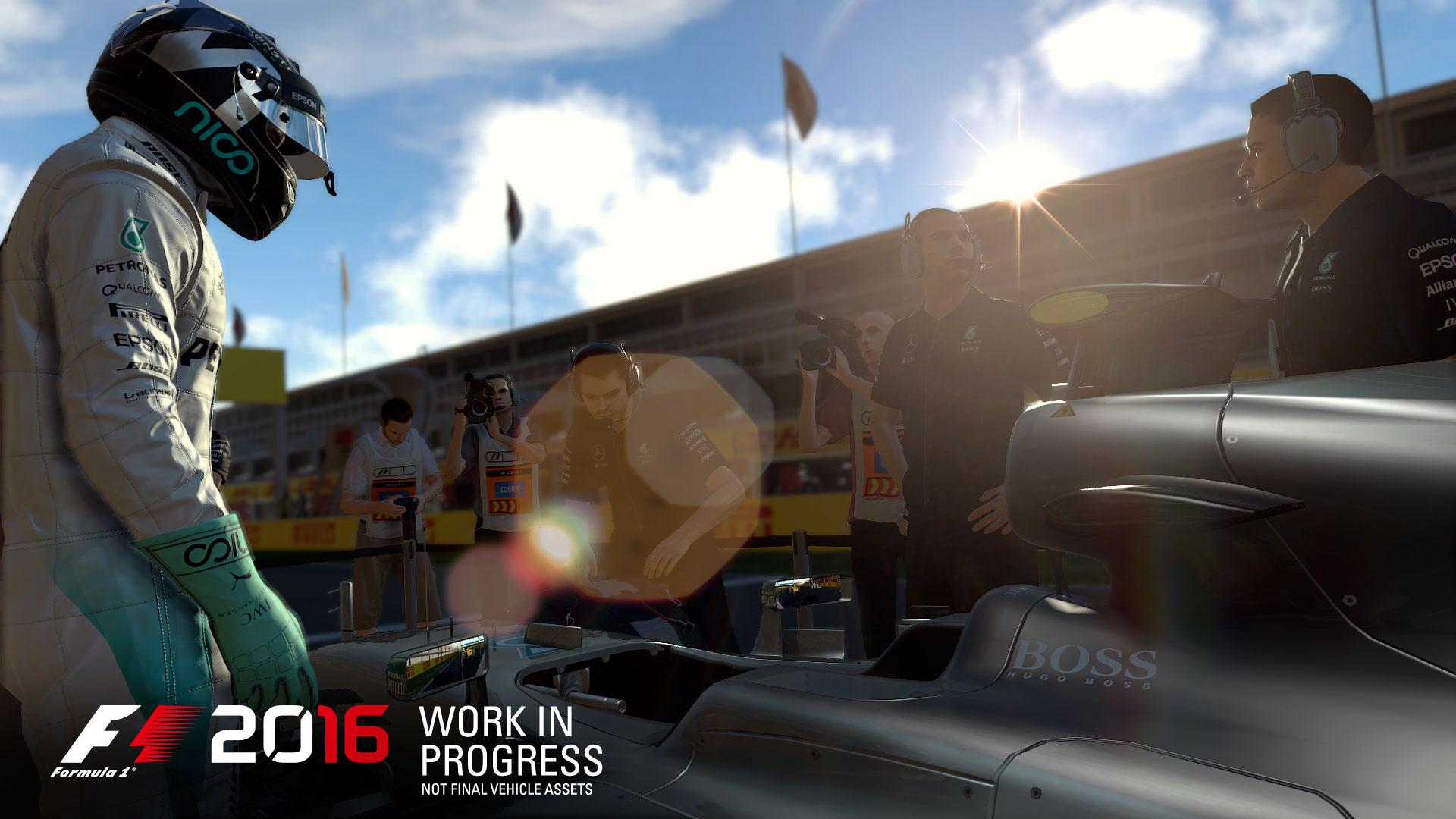 F1 2016 - game screen - Driver