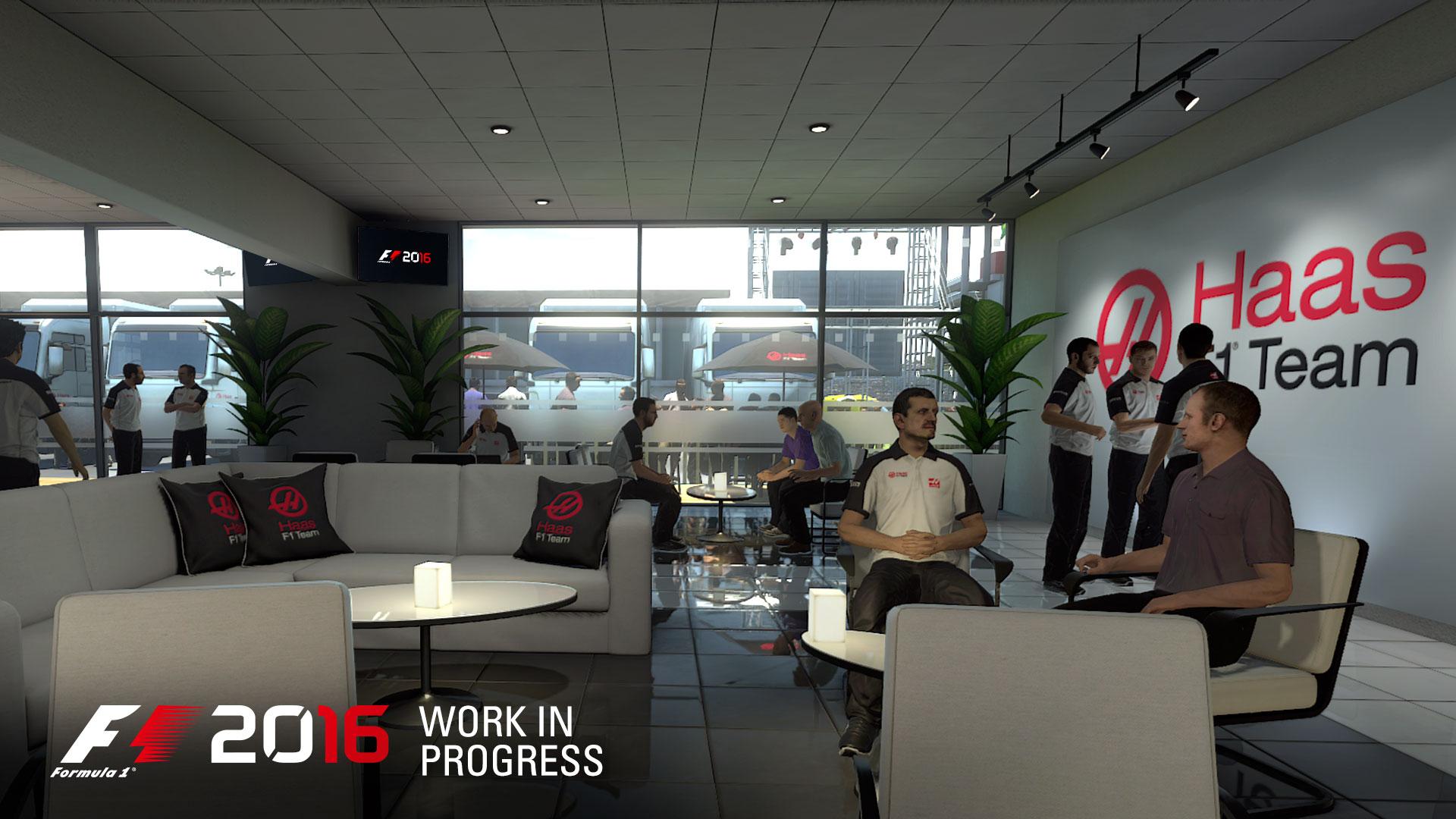 F1 2016 - game screen - Motohome