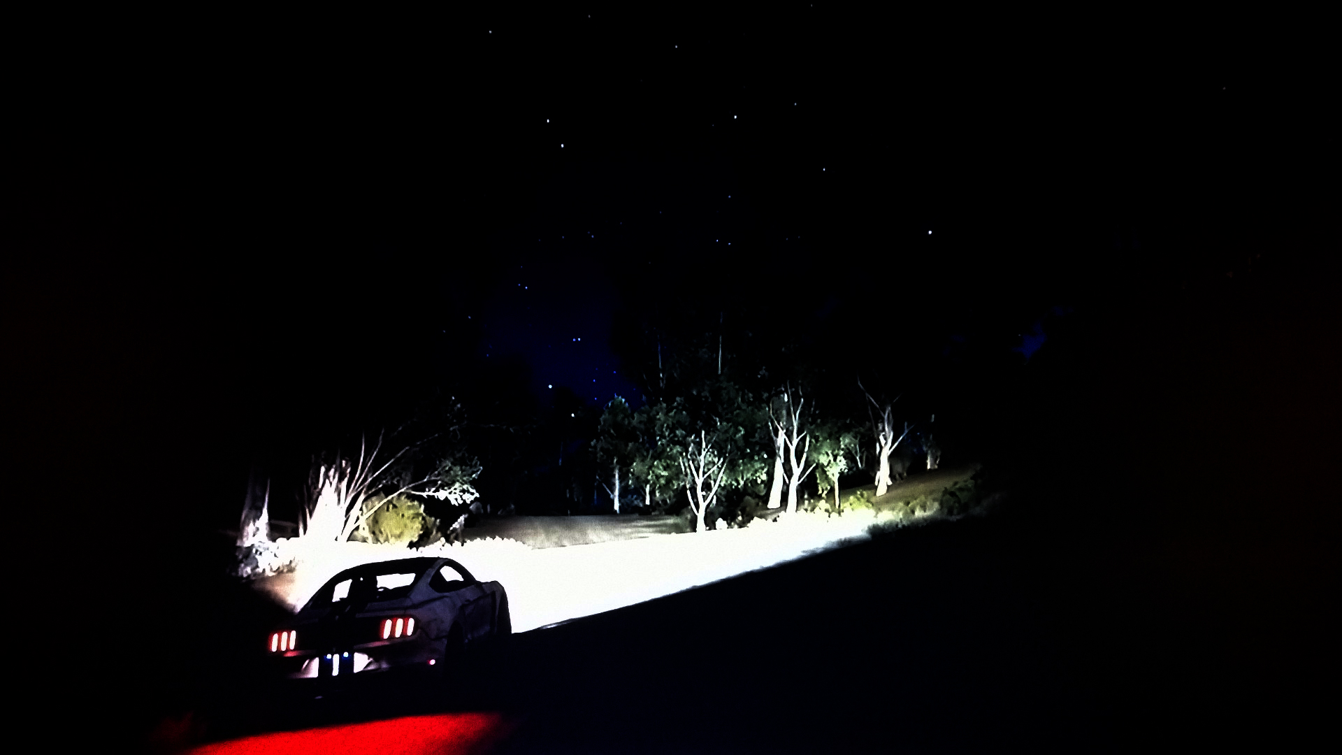 Forza Horizon 3 - demo - screen - GT350R - Time for night