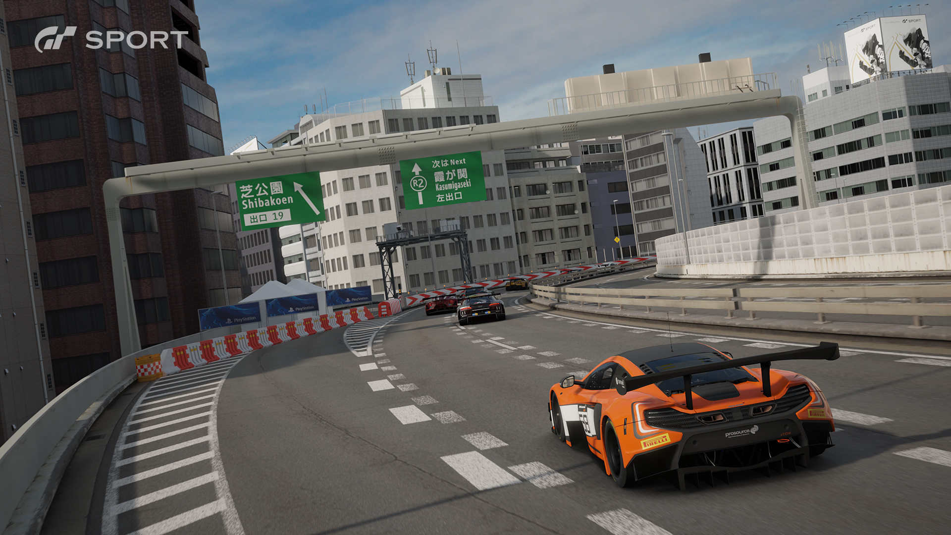 GTSport - Race Tokyo Express way - McLaren