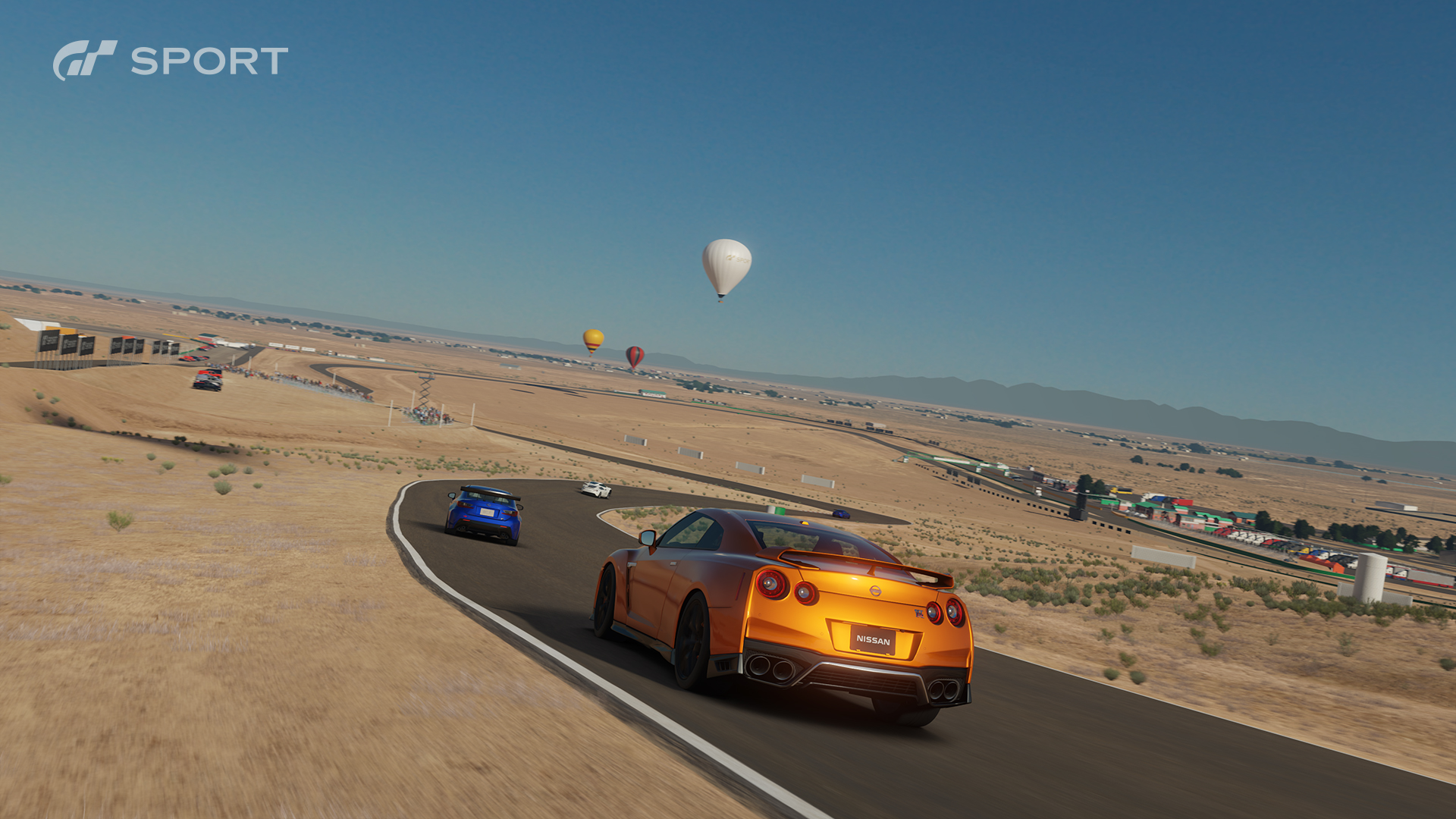 GTSport - Race Willow Springs Big Willow - Nissan GT-R