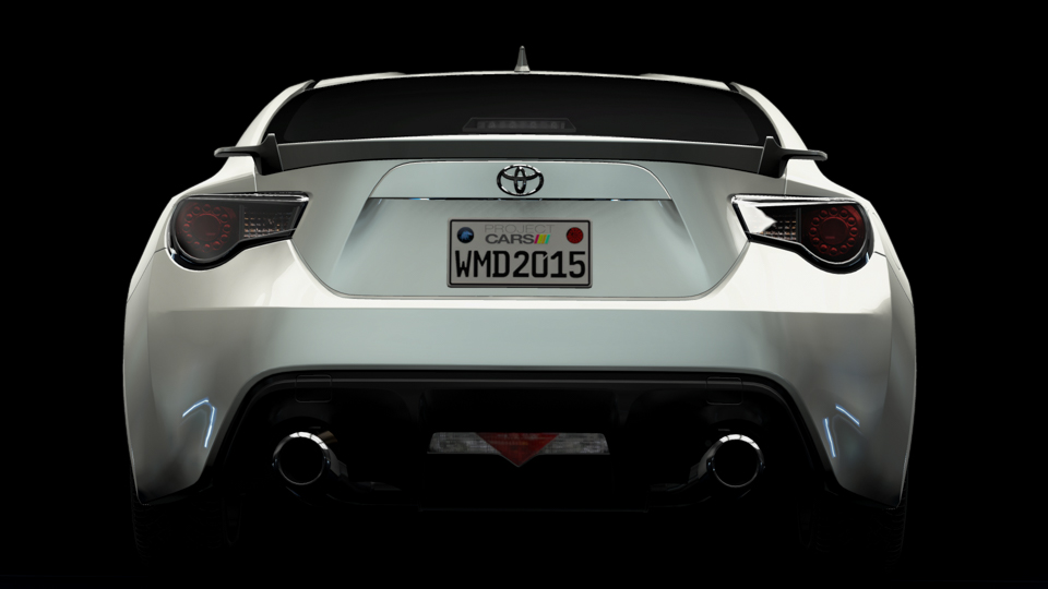 Project CARS - 2012 Toyota GT86 - 2015 Japanese Car Pack