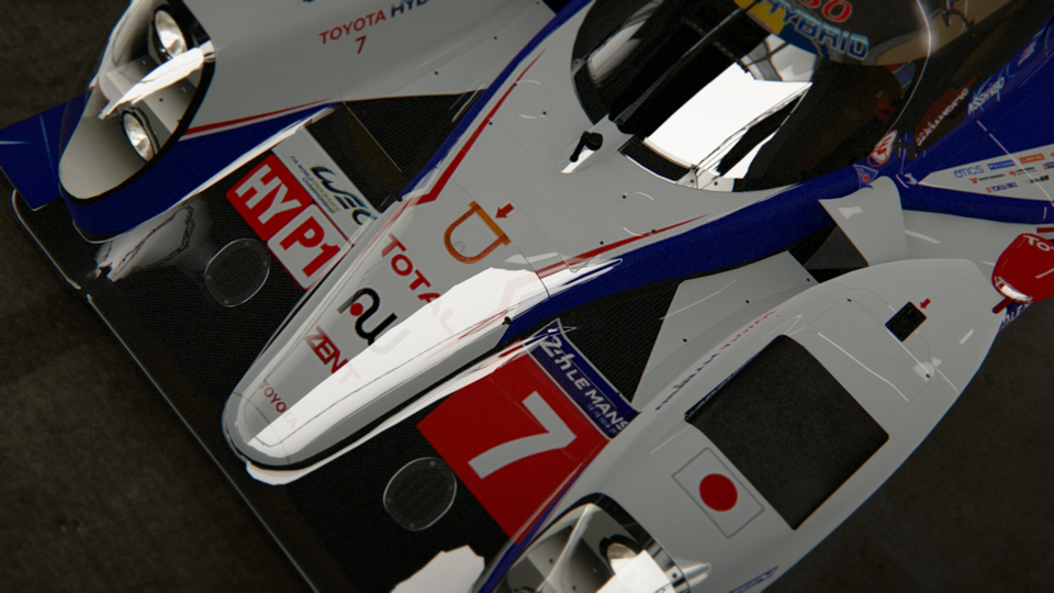 Project CARS - 2014 Toyota TS040 Hybride LMP1 - 2015 Japanese Car Pack