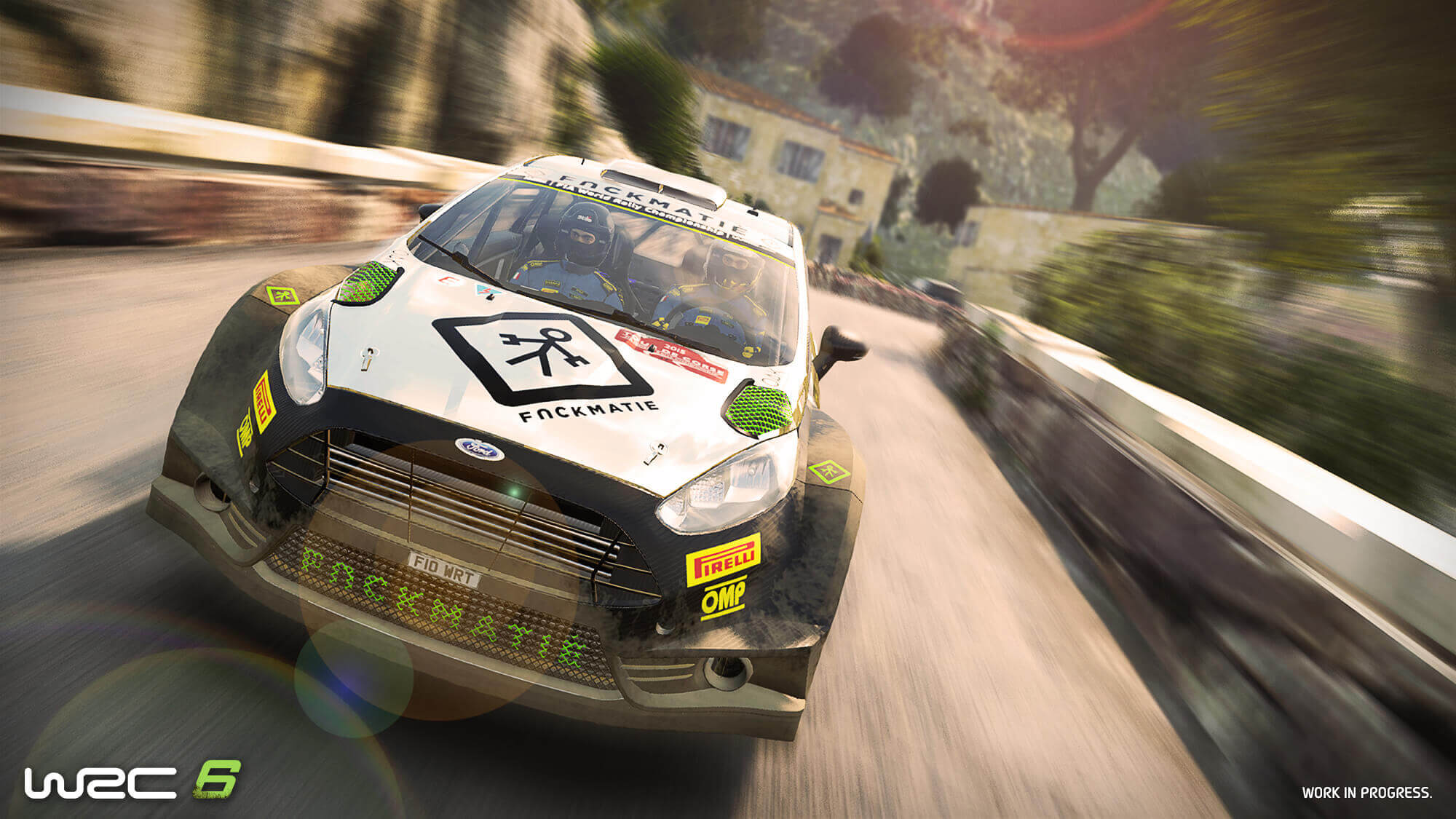 WRC6 - screen Ford - front / avant