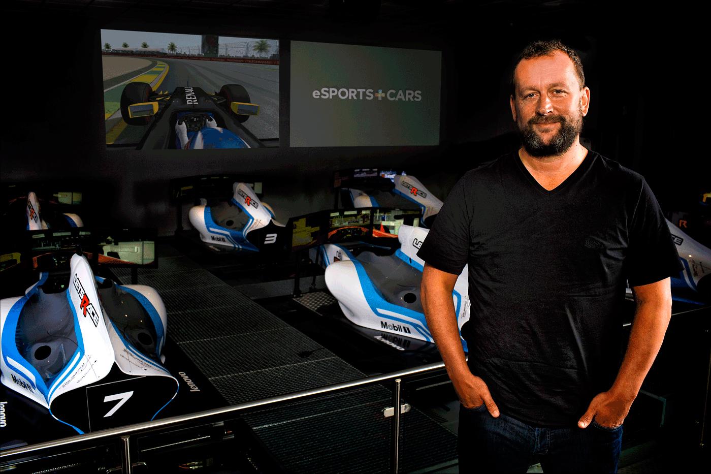 eSports+Cars - Darren Cox - Team Principal - 2016