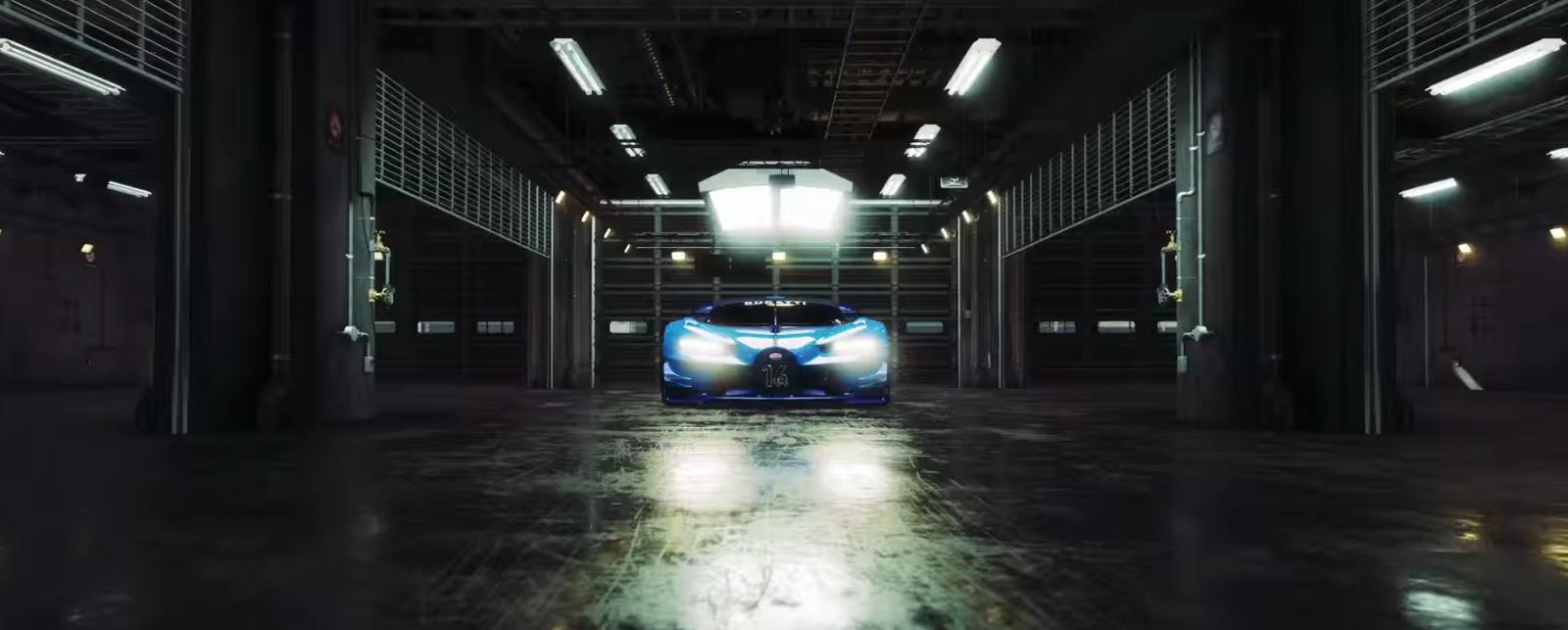 Gran Turismo Sport - Bugatti Vision GT