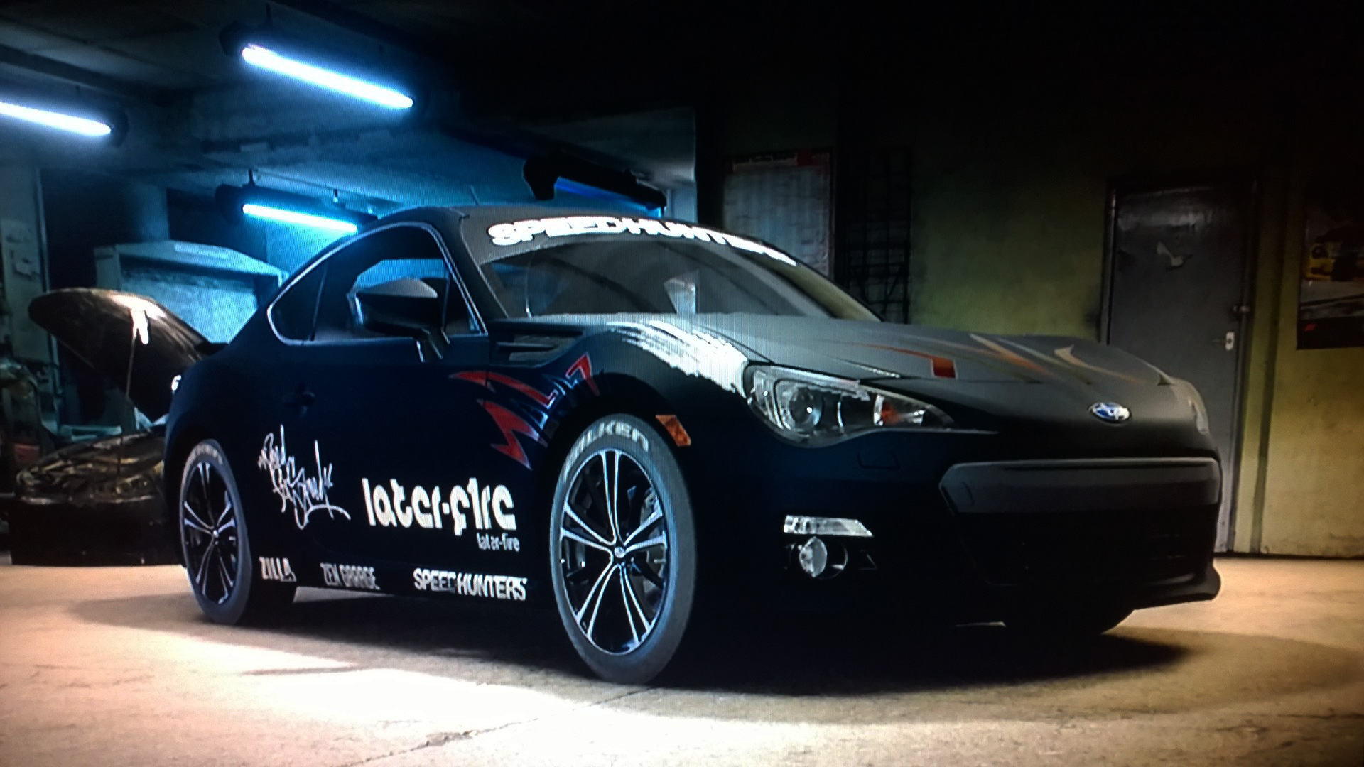 Need for Speed - screen photo - BRZ - custom by nomadelj - NFS car - avant / front
