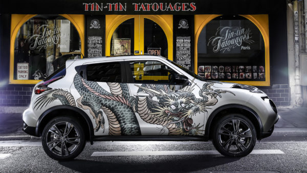 Nissan Juke by Tin-Tin - Paris - 2016