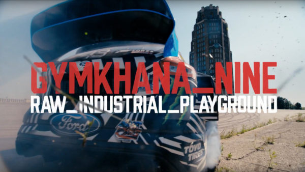 Gymkhana NINE - cover