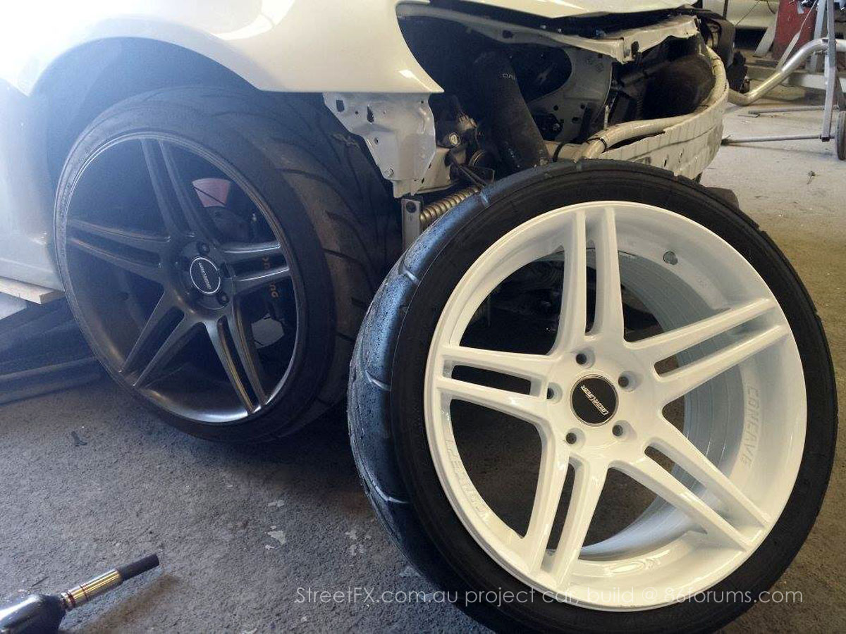 WTF-86 project - rear wheel custom - photo  StreetFX