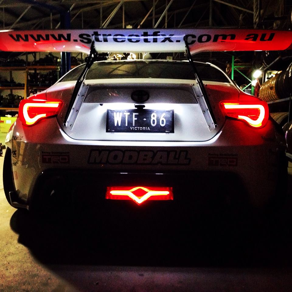 WTF-86 - rear light - photo StreetFX