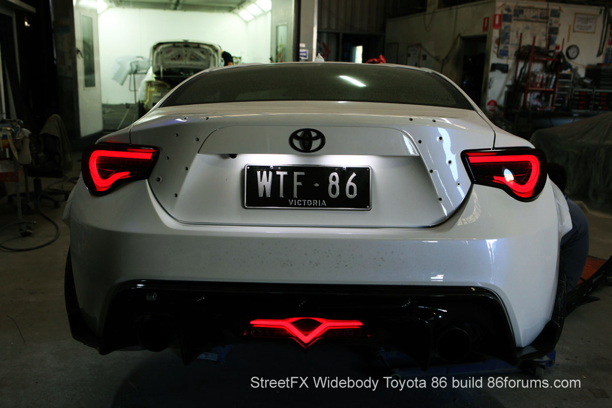 WTF-86 project - Toyota 86 - rear / arrière - photo StreetFX