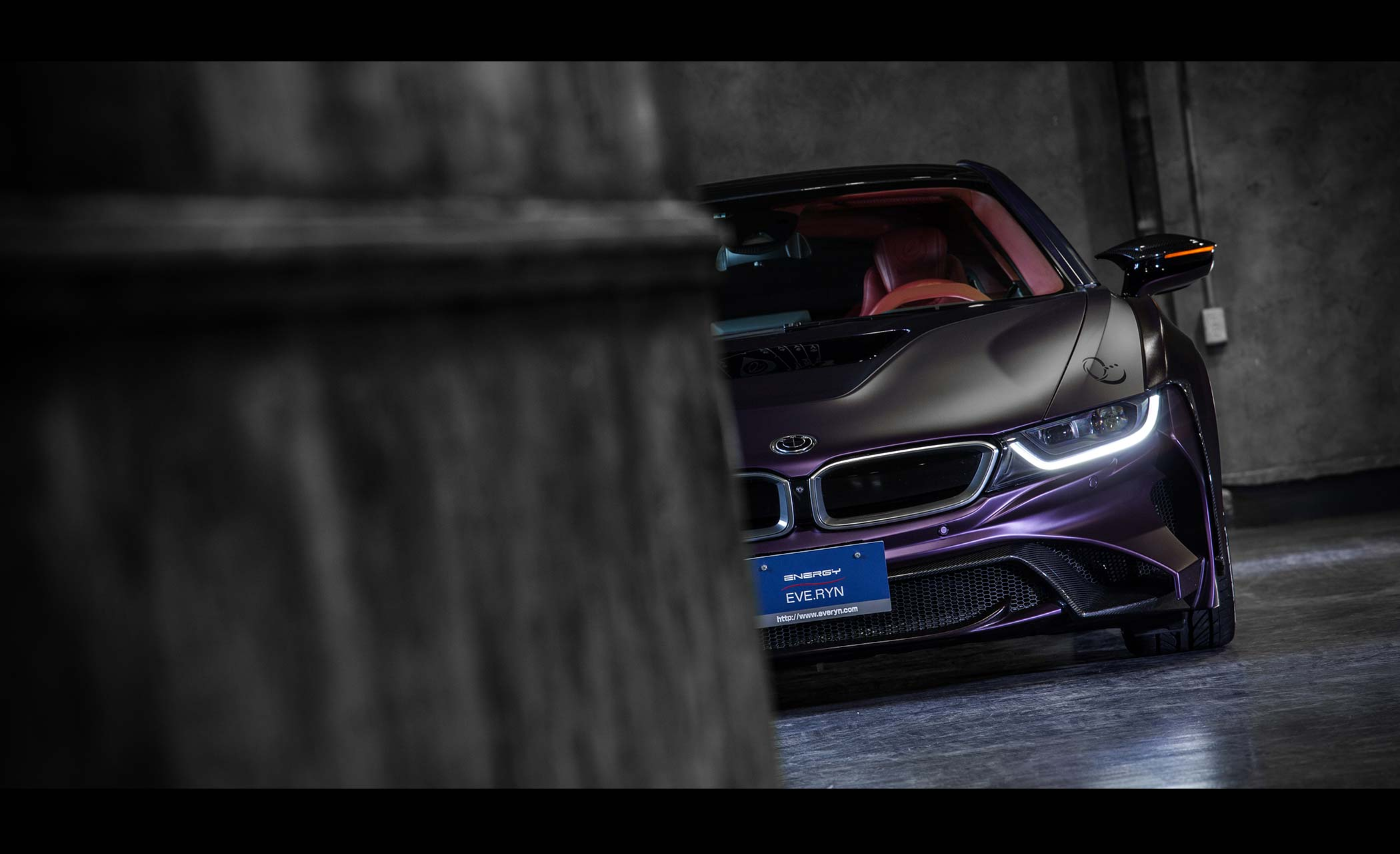 Energy Motorsport - BMW i8 Dark Knight Edition - 2017 - front-face