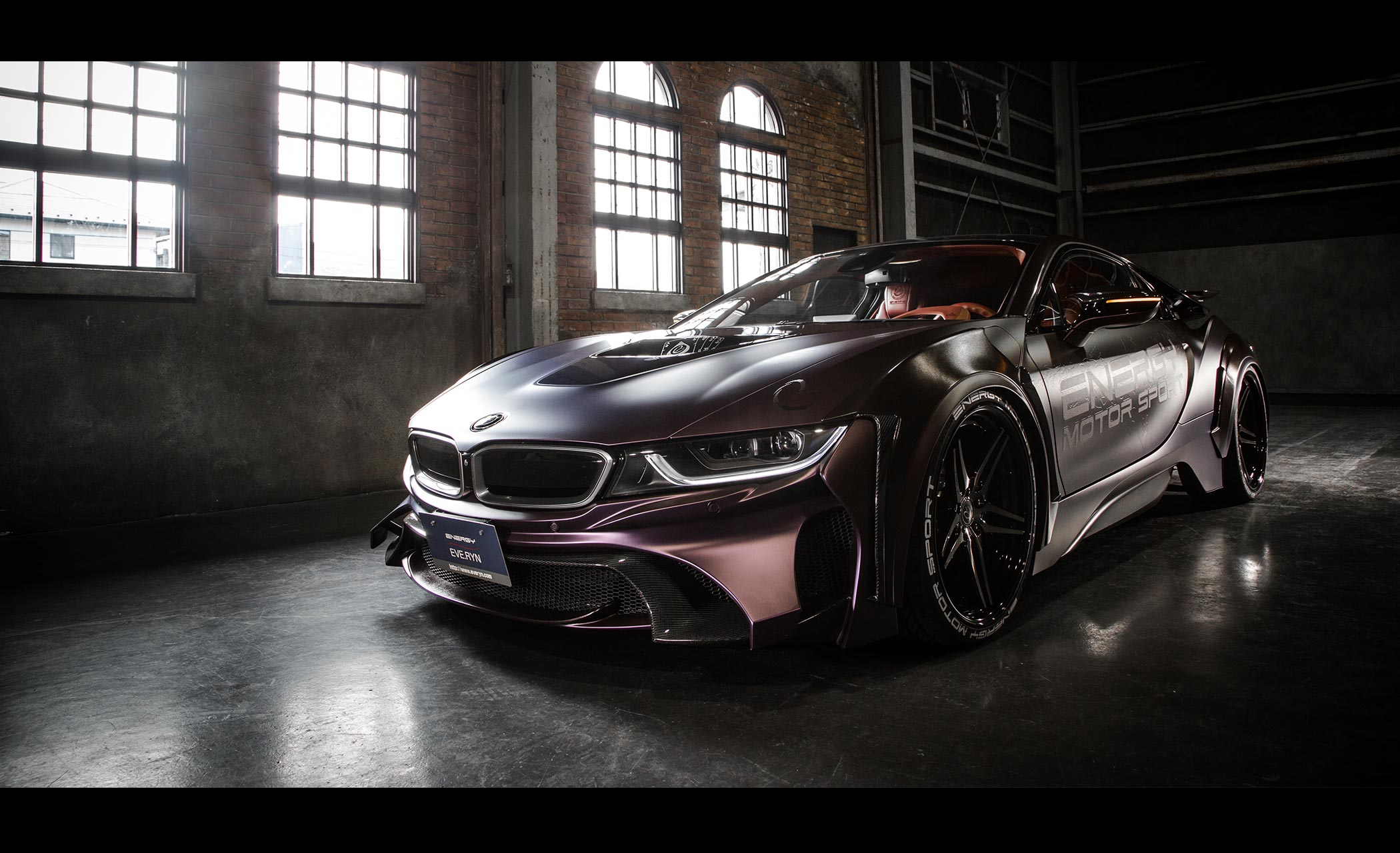 Energy Motorsport - BMW i8 Dark Knight Edition - 2017 - front